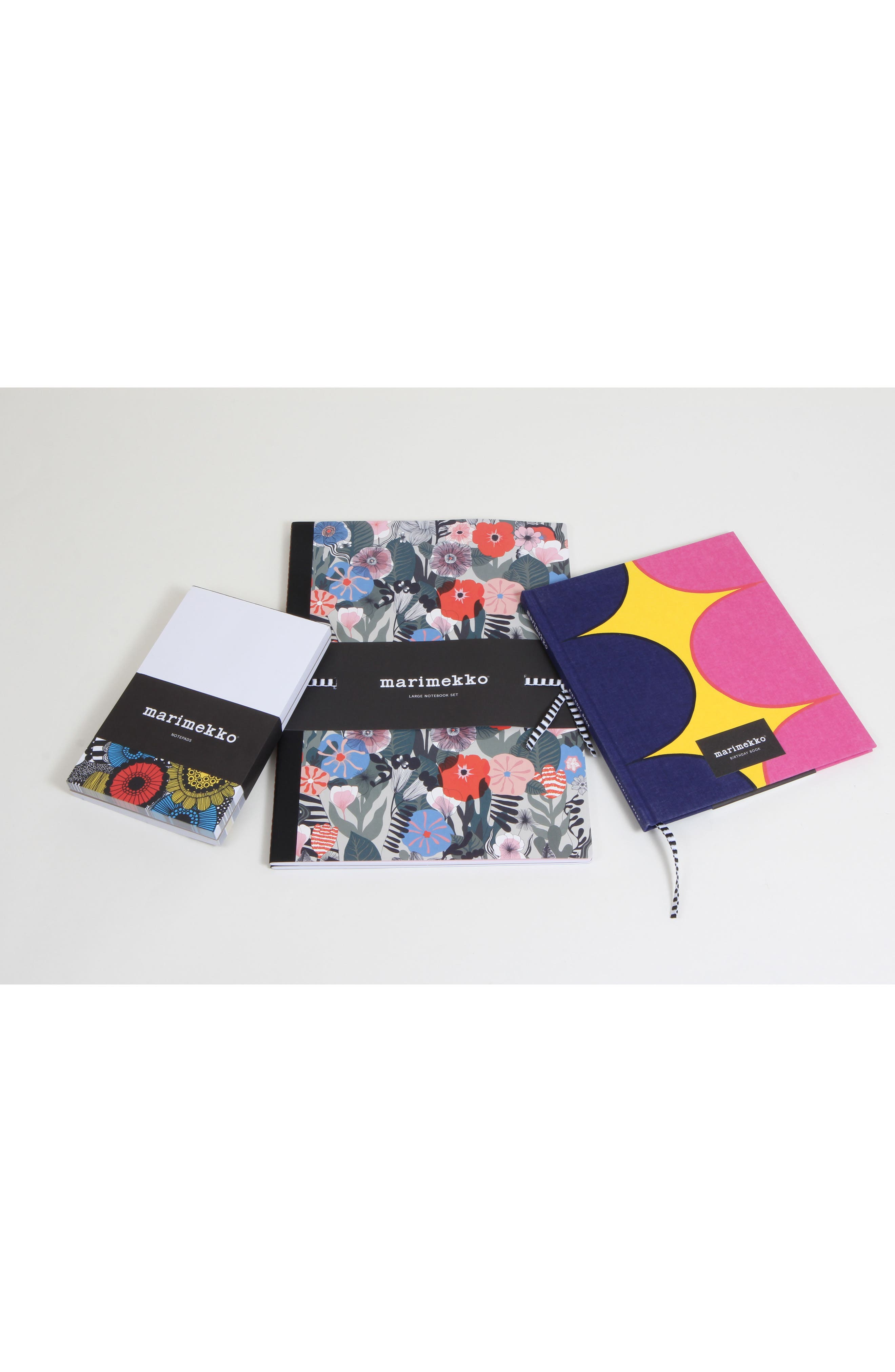 x Marimekko Set of 2 Notebooks,                             Alternate thumbnail 4, color,                             Multi