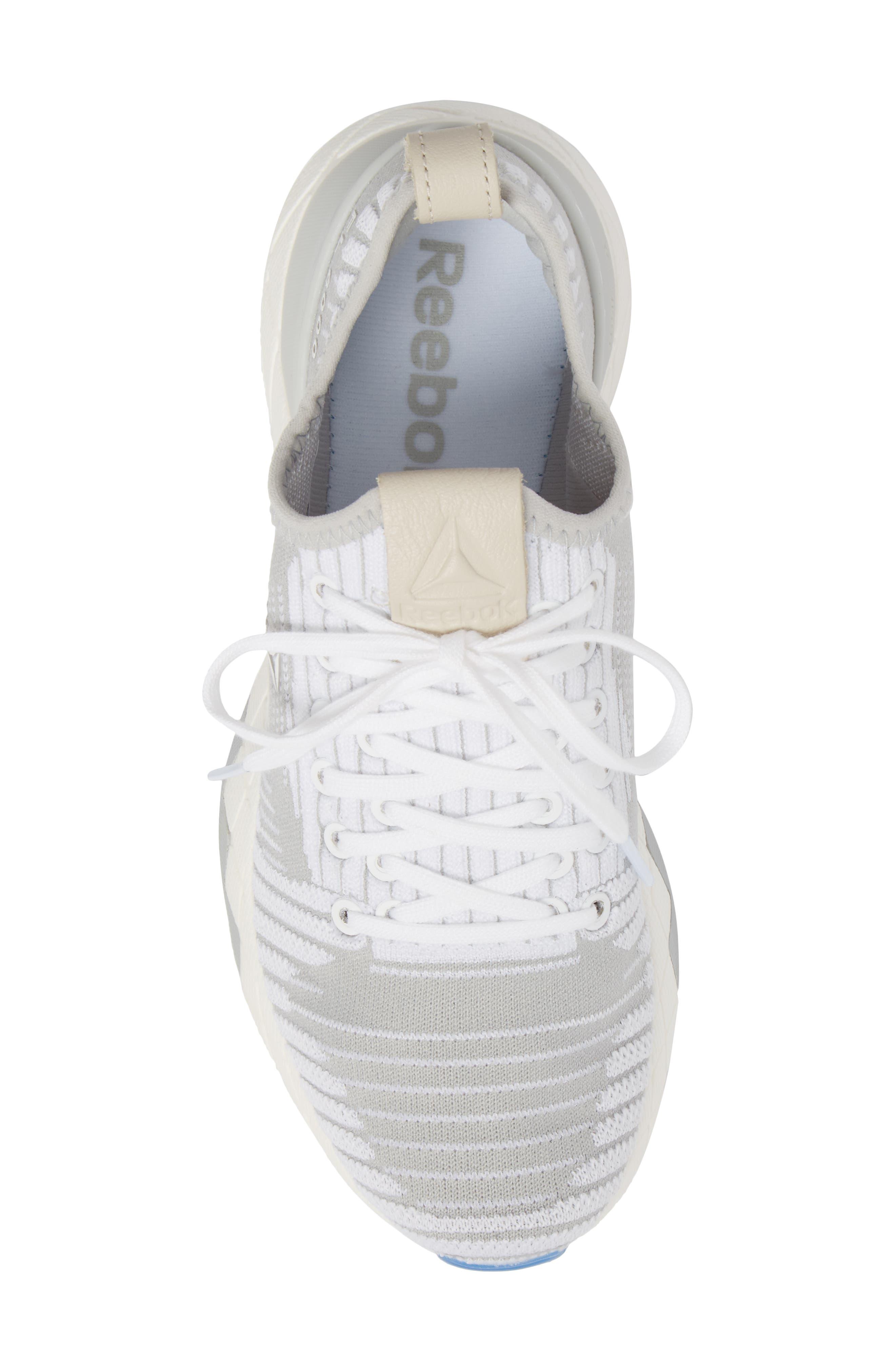 Floatride 6000 Running Shoe,                             Alternate thumbnail 5, color,                             White/ Skull Grey