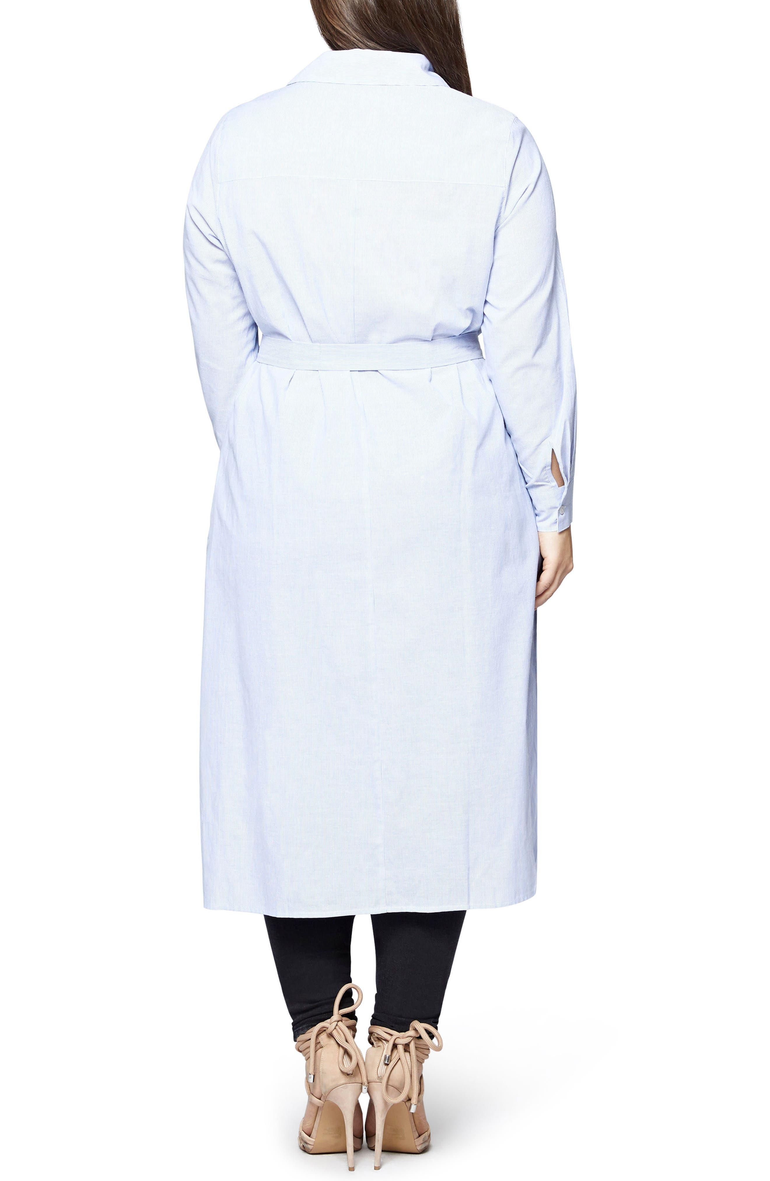 Jess Stripes Tunic Shirt,                             Alternate thumbnail 2, color,                             Baby Ticking Stripe