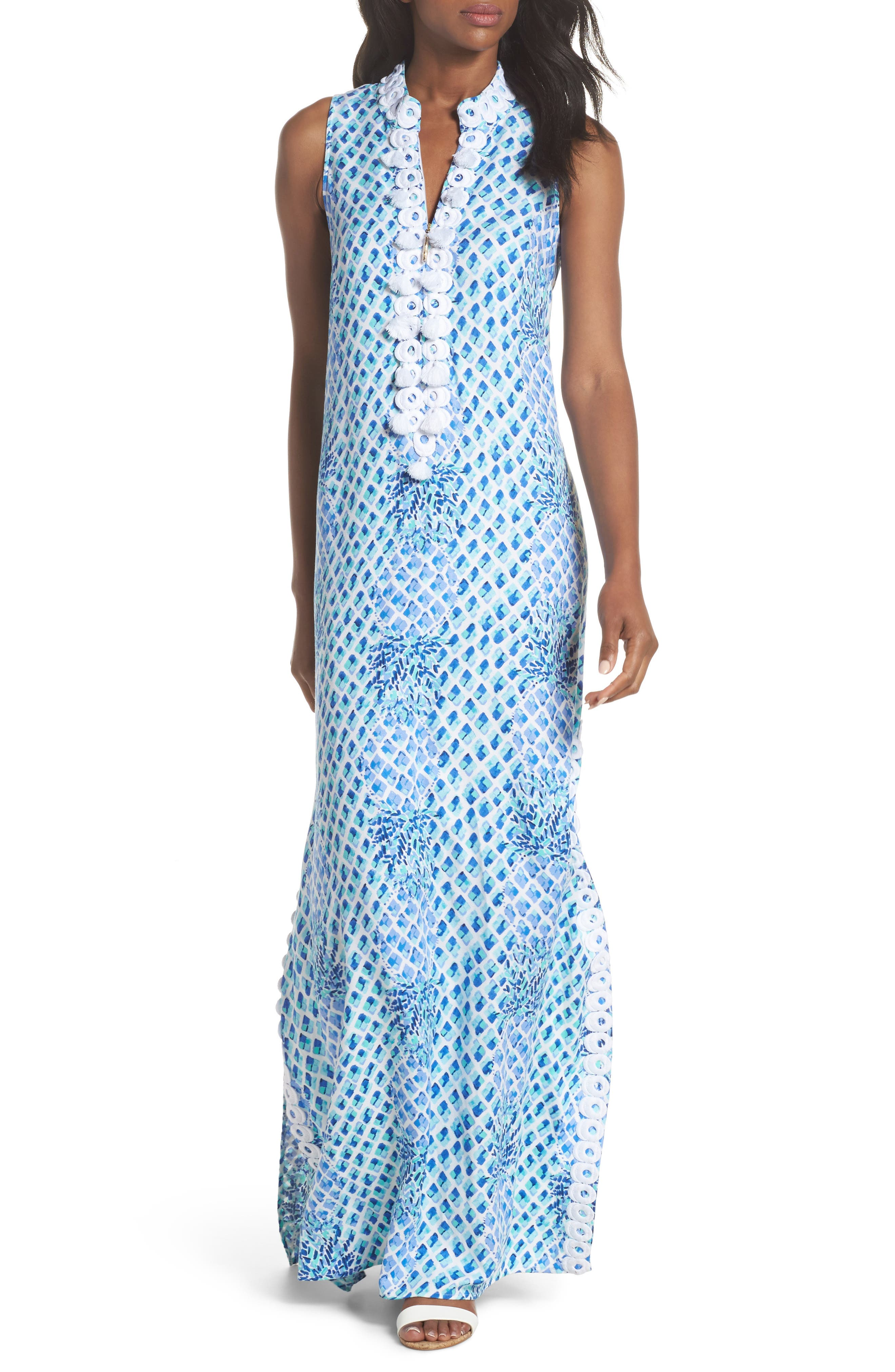 Alternate Image 1 Selected - Lilly Pulitzer® Jane Maxi Dress