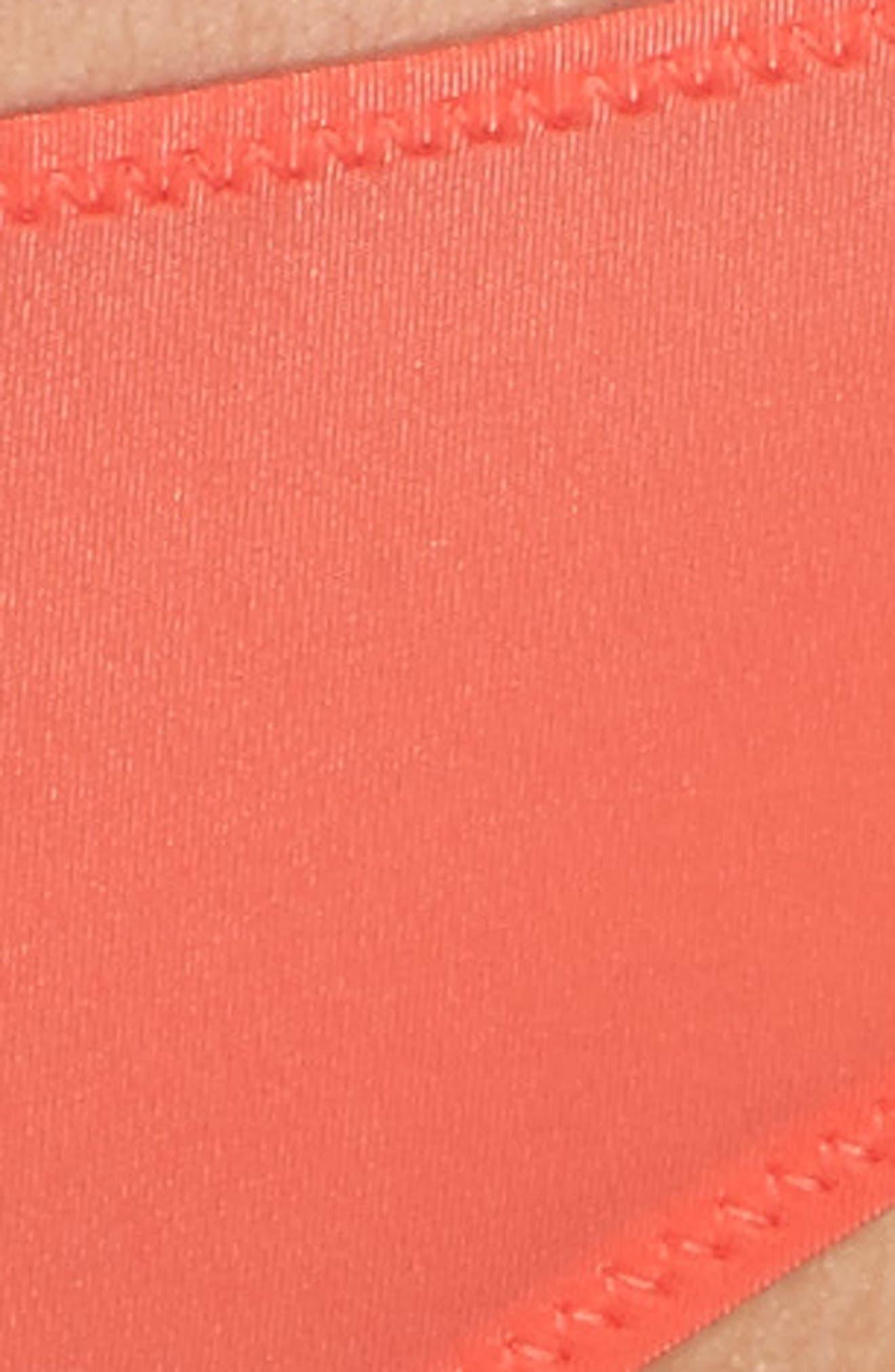 Sheer Mesh Thong,                             Alternate thumbnail 9, color,                             Lipstick Red