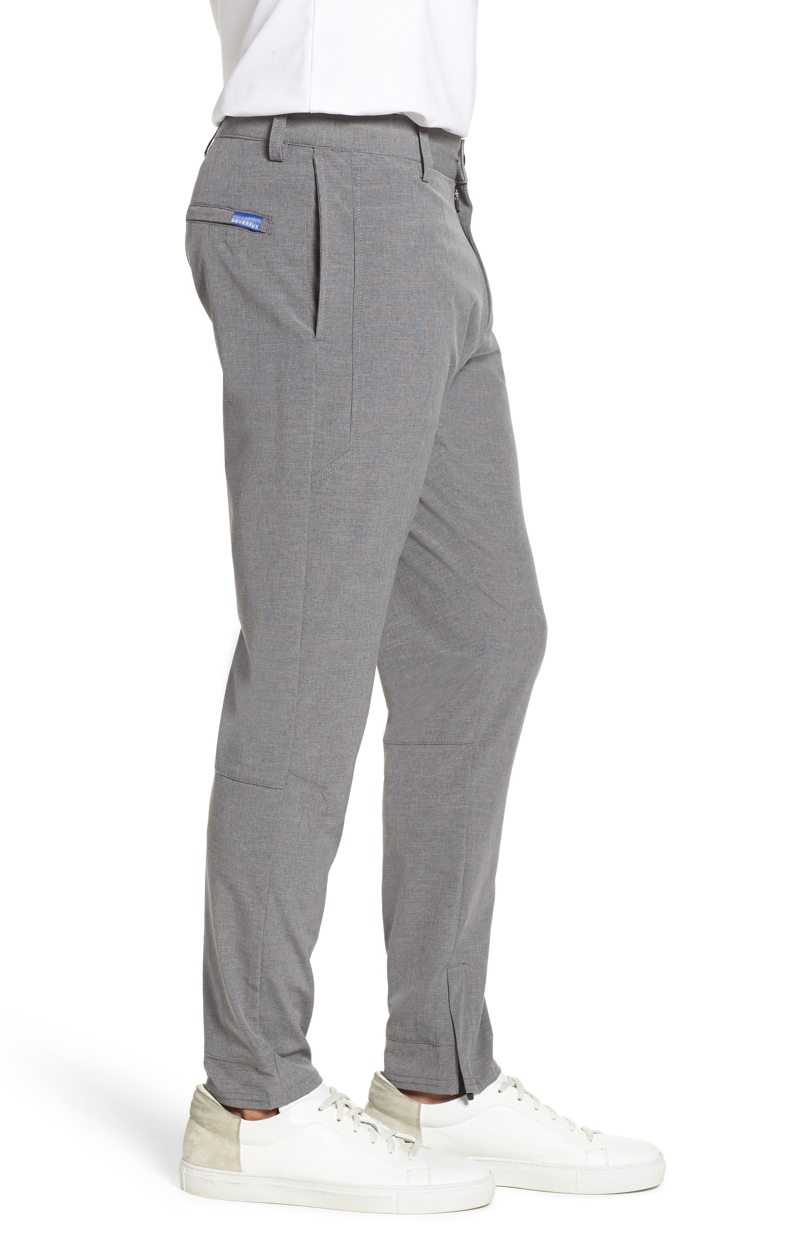 Gravity Athletic Fit Pants,                             Alternate thumbnail 3, color,                             Charcoal