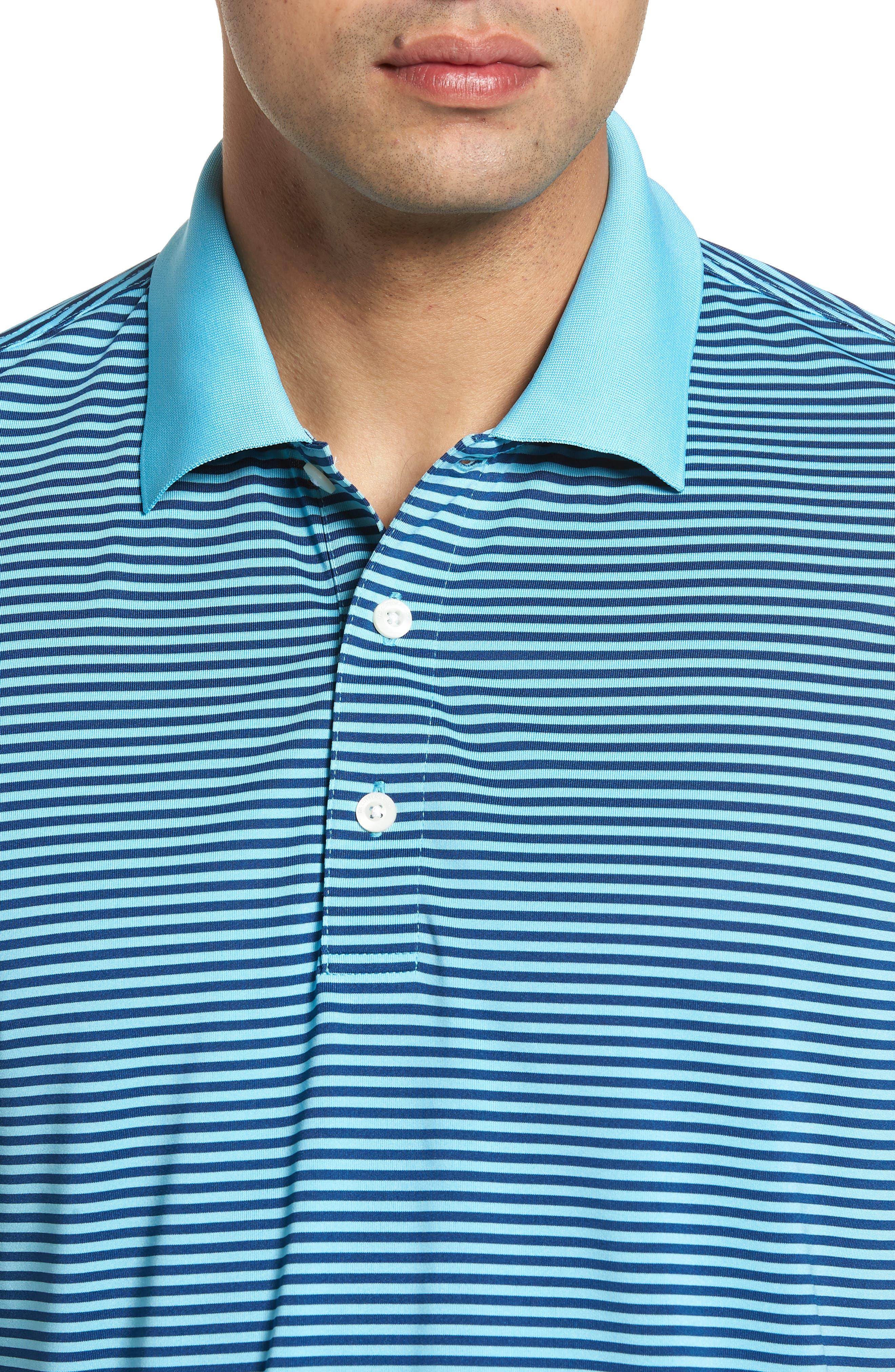Alternate Image 4  - Cutter & Buck Trevor Stripe DryTec Polo
