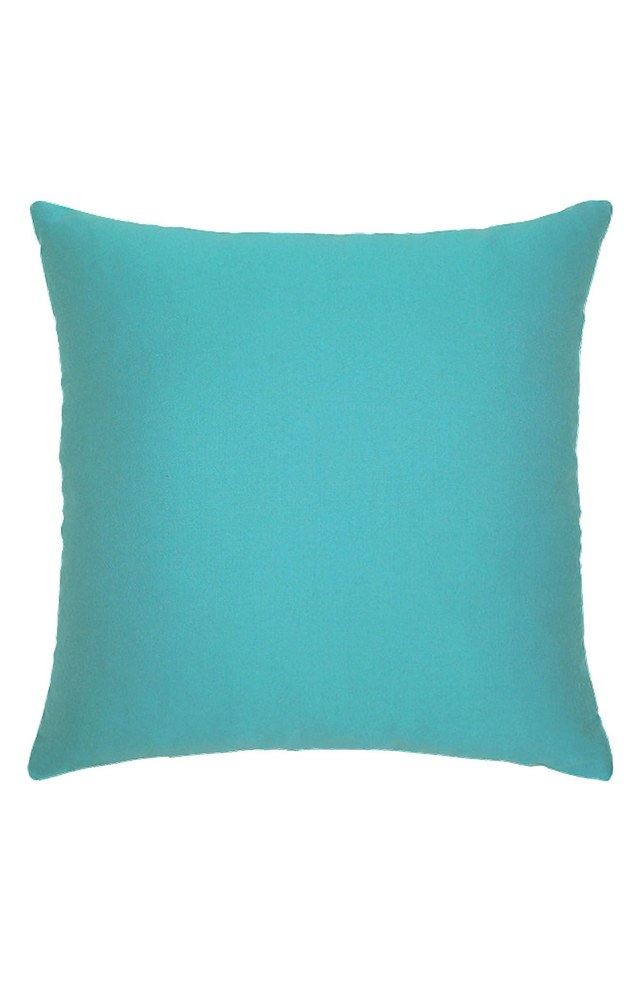 Basket Weave Indoor/Outdoor Accent Pillow,                             Alternate thumbnail 2, color,                             Blue