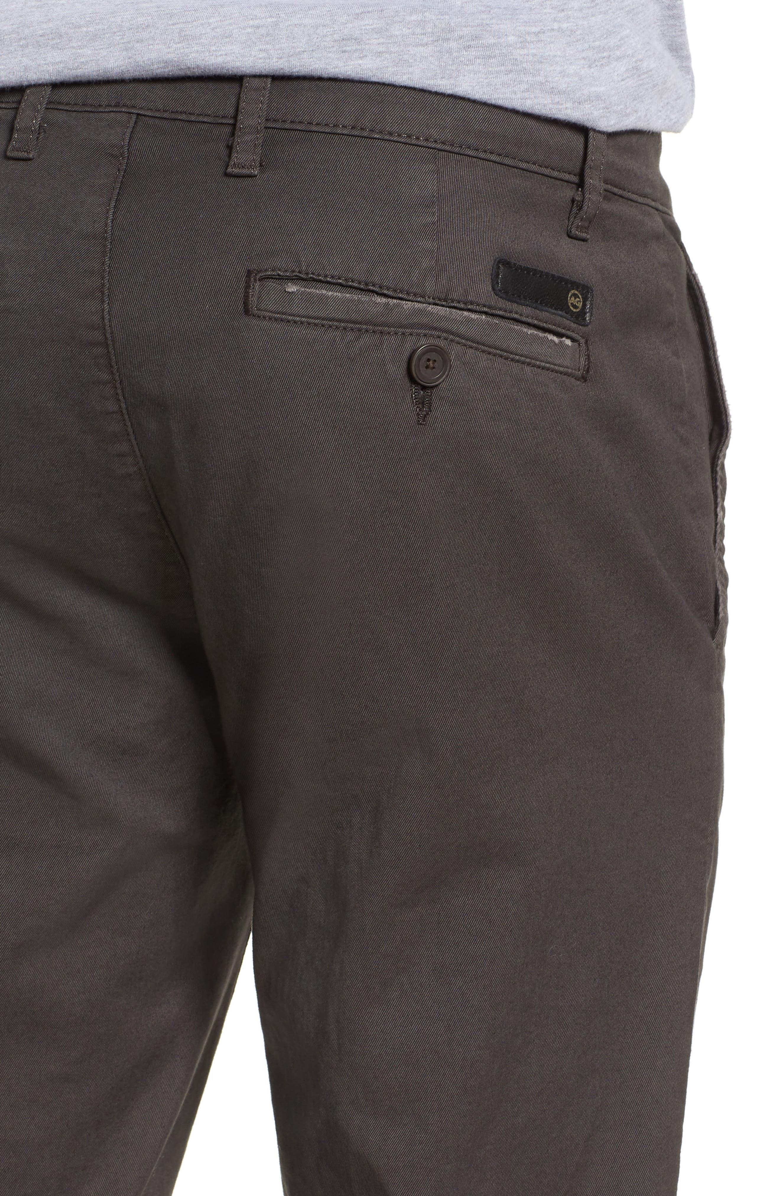 Alternate Image 4  - AG Marshall Slim Straight Leg Chino Pants