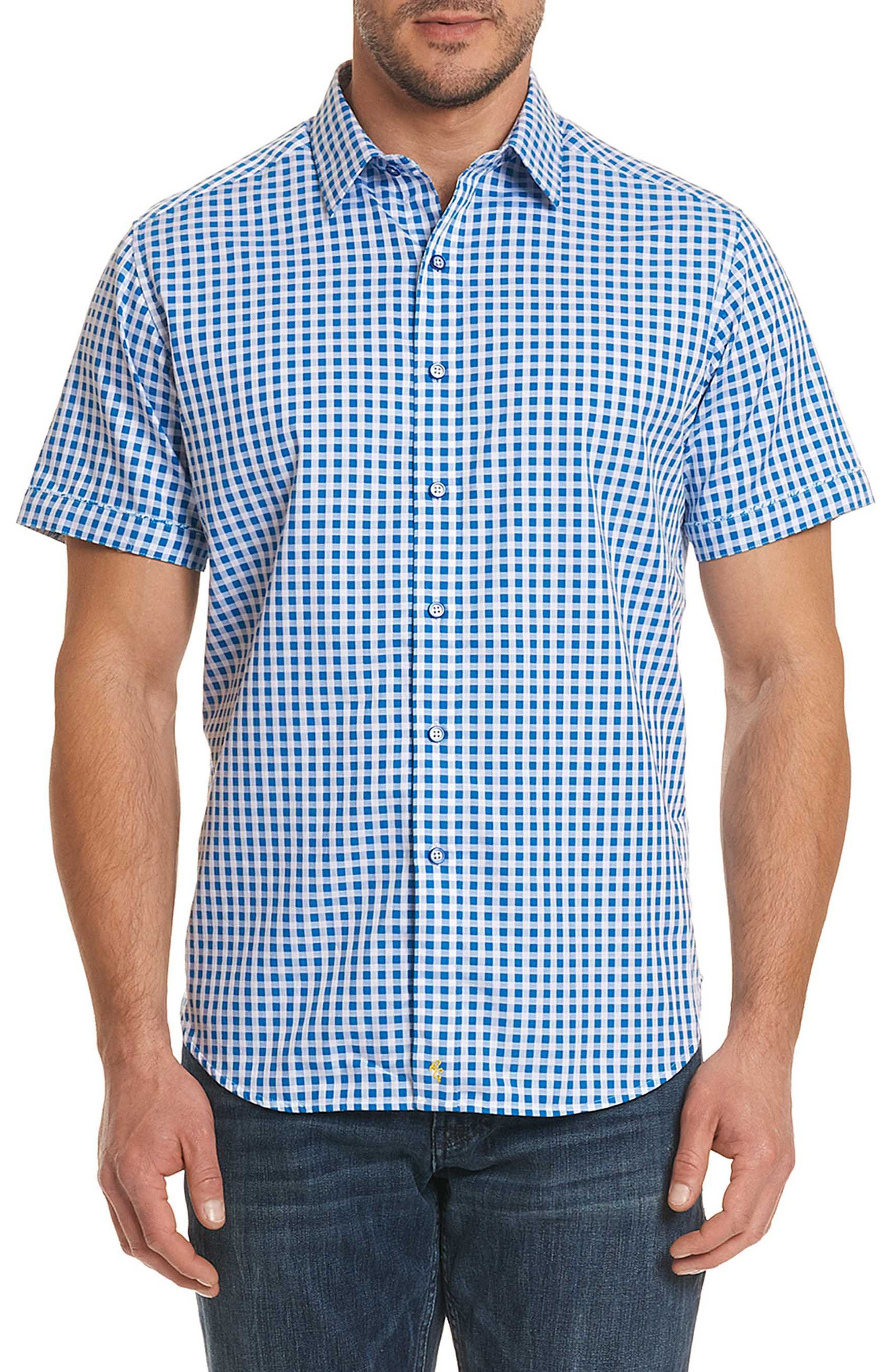 Morales Classic Fit Sport Shirt,                             Main thumbnail 1, color,                             Blue