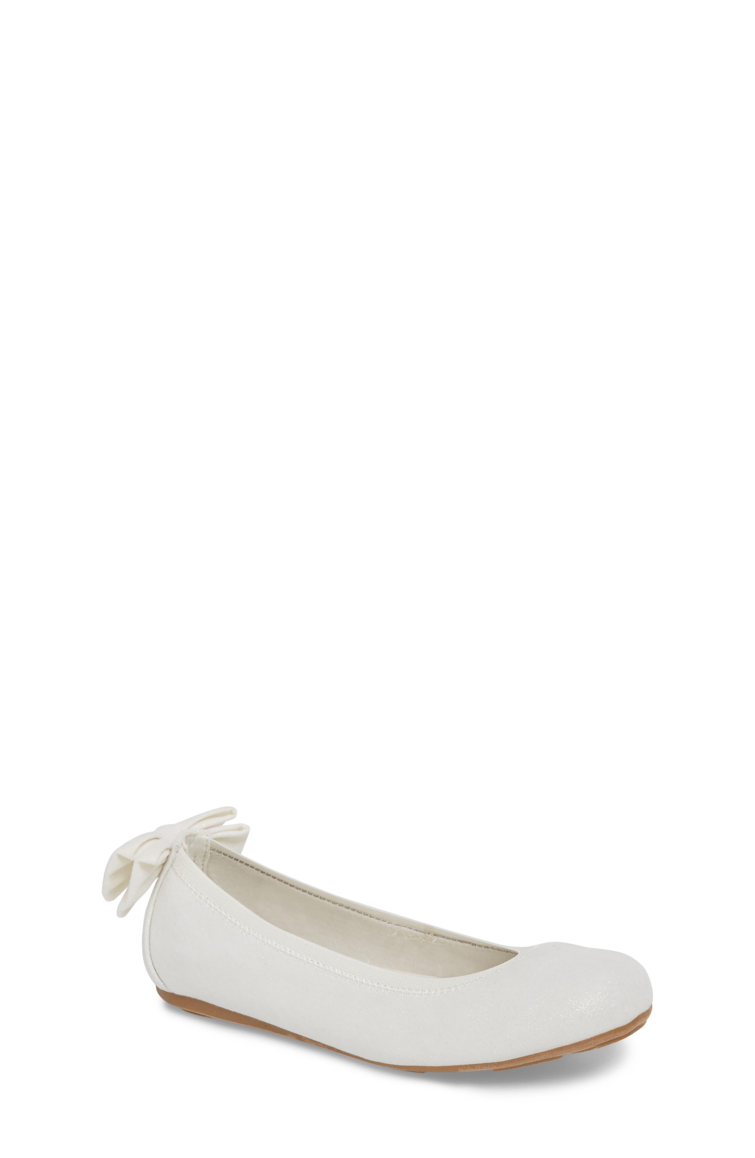 Stuart Weiztman Fannie Elena Glitter Ballet Flat (Toddler, Little Kid & Big Kid)