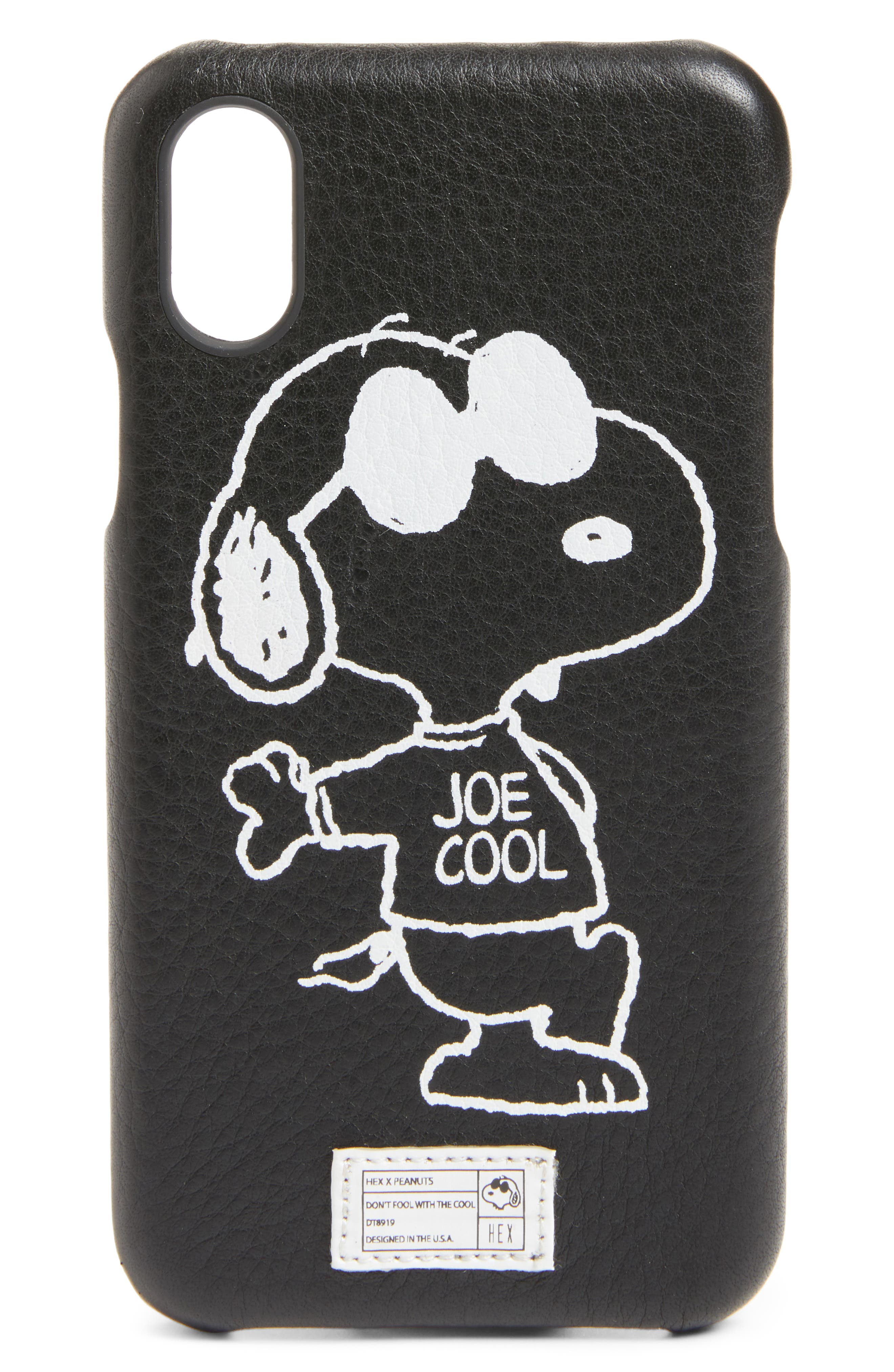 HEX x Peanuts iPhone X Case (Limited Edition) (Nordstrom Exclusive)