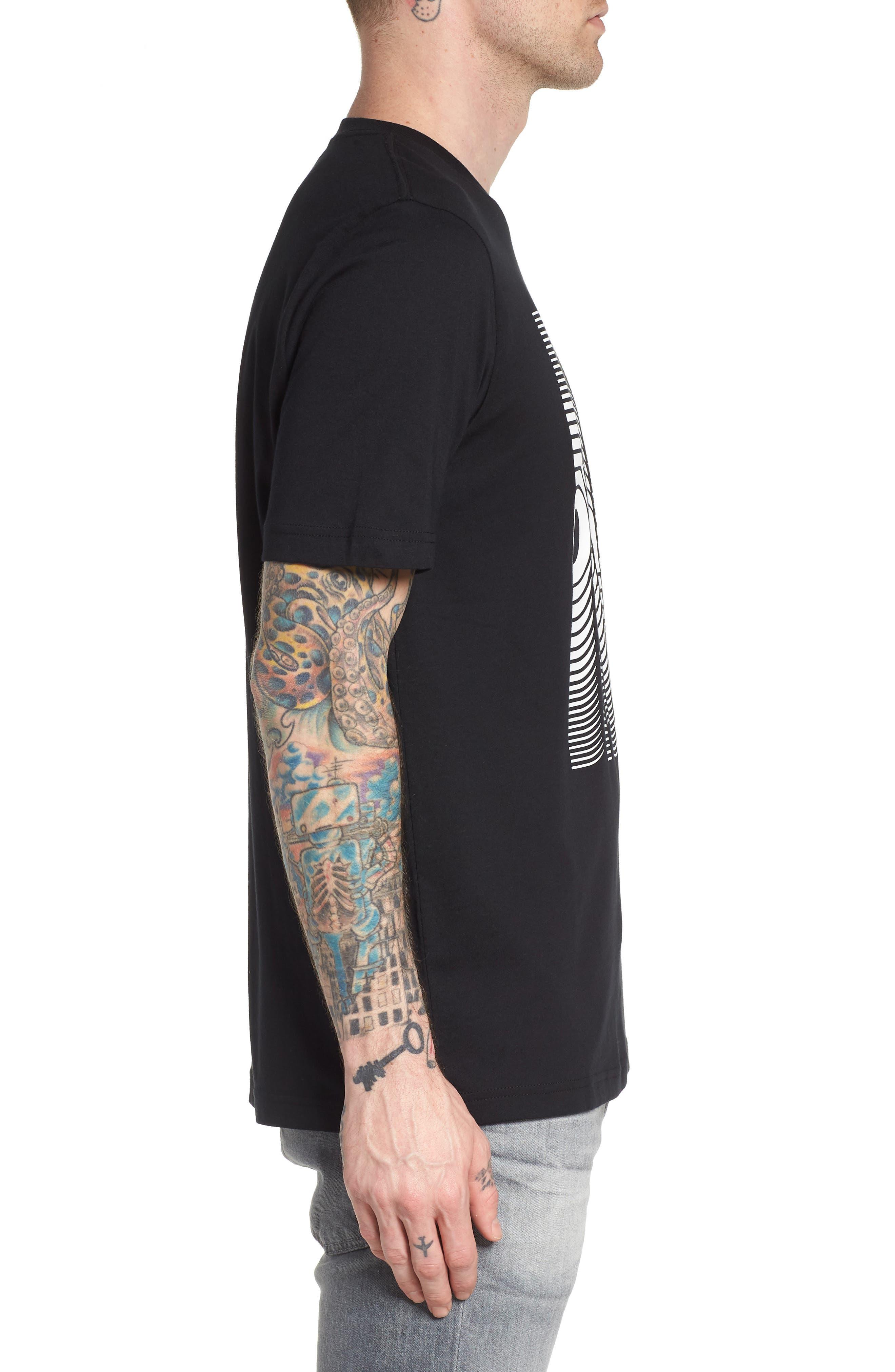 T-Just-SE T-Shirt,                             Alternate thumbnail 3, color,                             Black