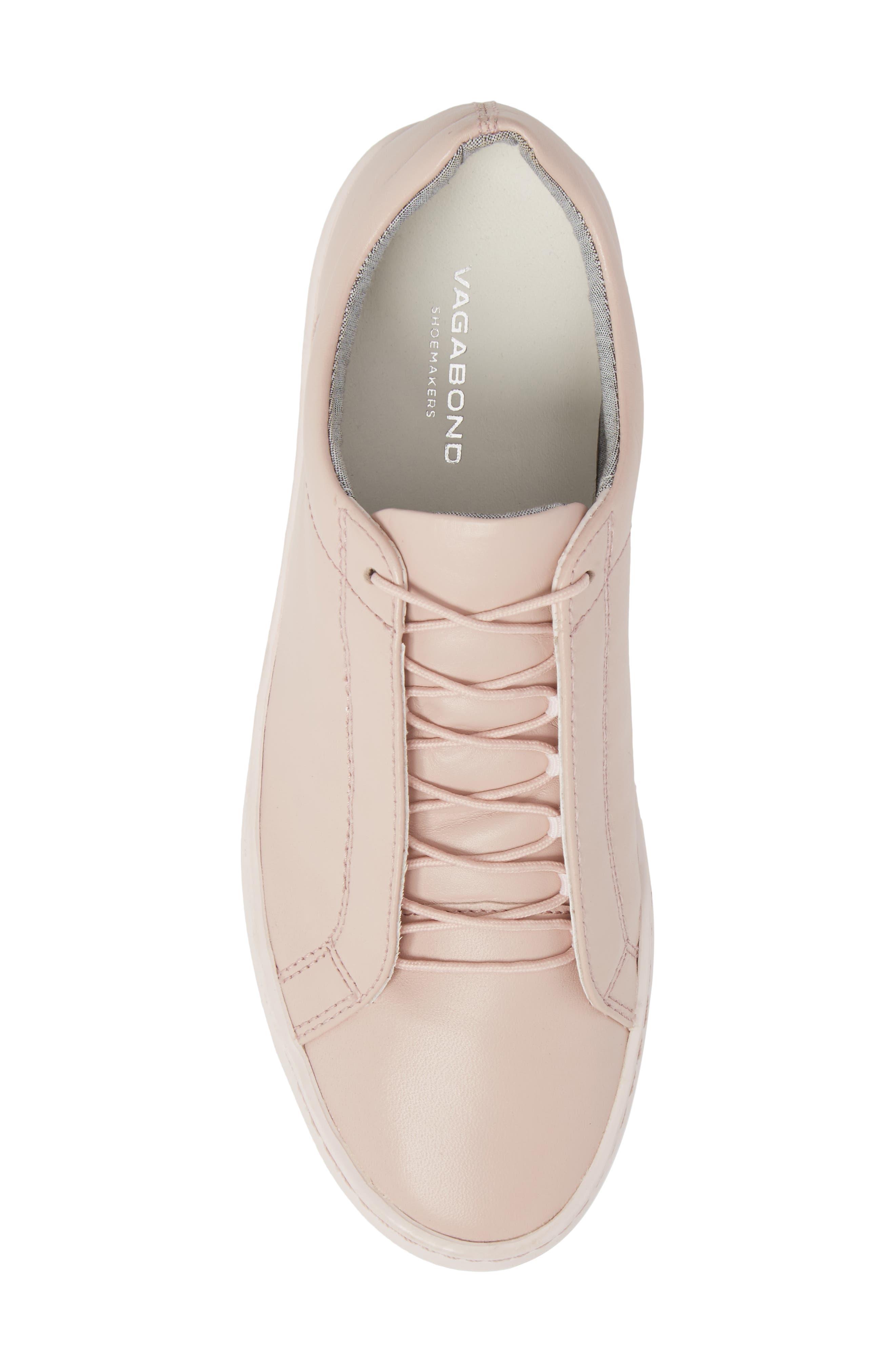 Zoe Sneaker,                             Alternate thumbnail 5, color,                             Milkshake Leather