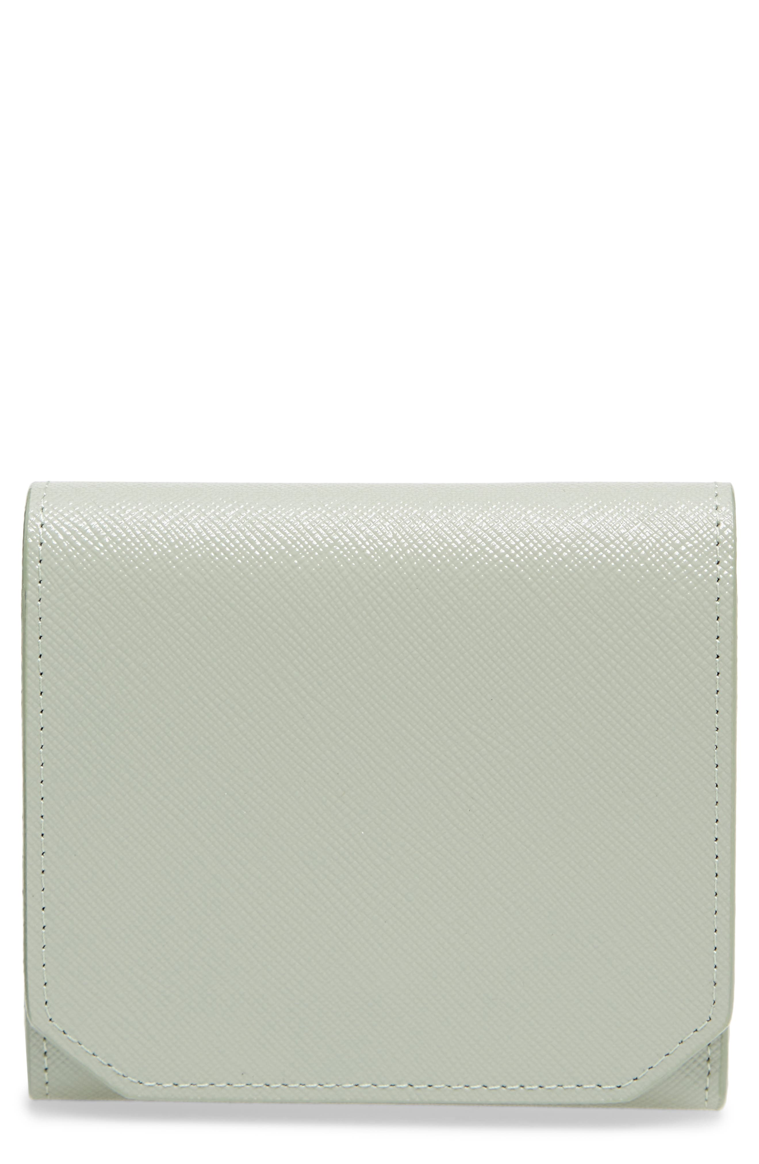 Nordstrom Trifold Leather Envelope Wallet