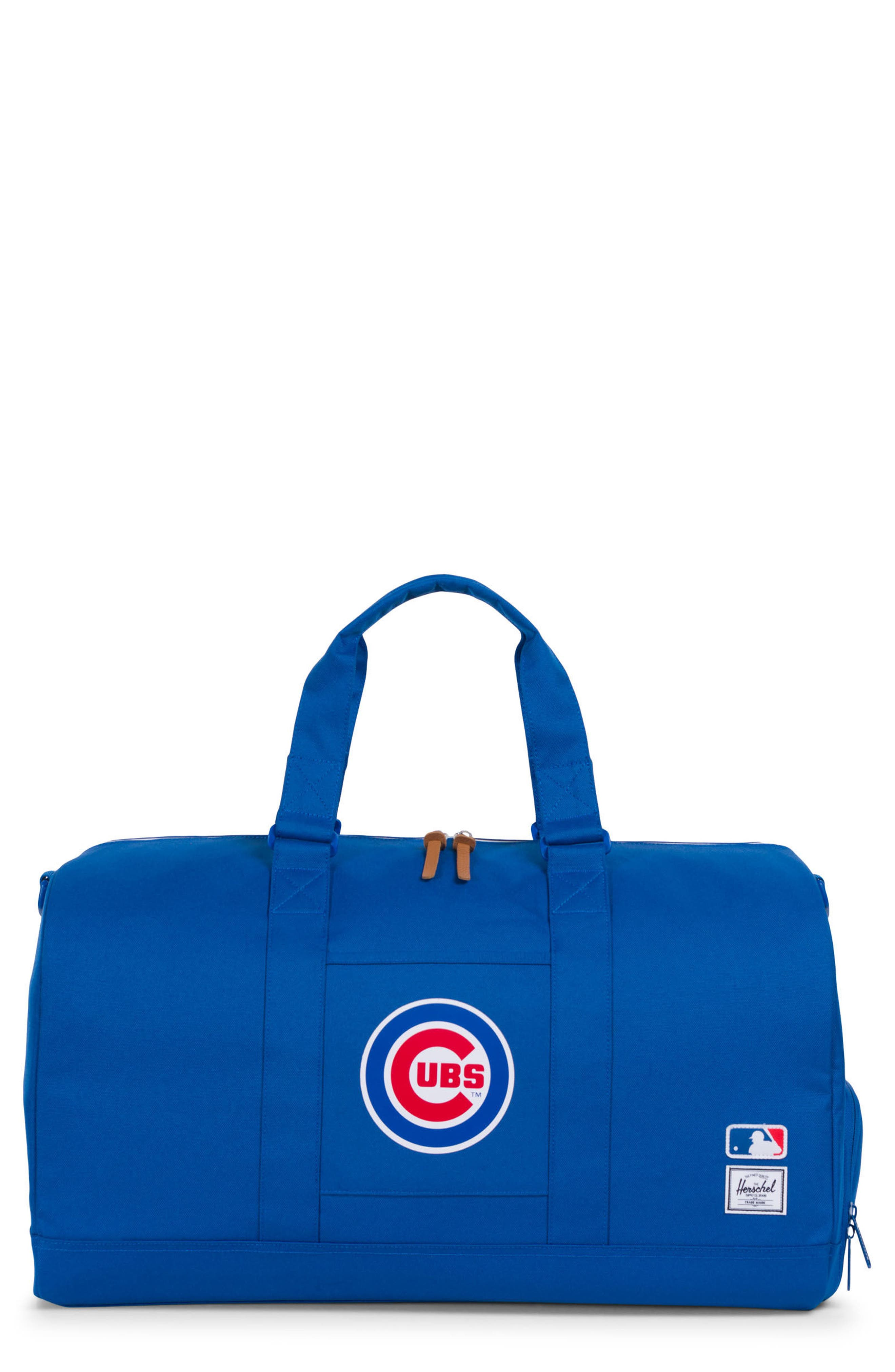 Novel - MLB National League Duffel Bag,                             Main thumbnail 1, color,                             Chicago Cubs