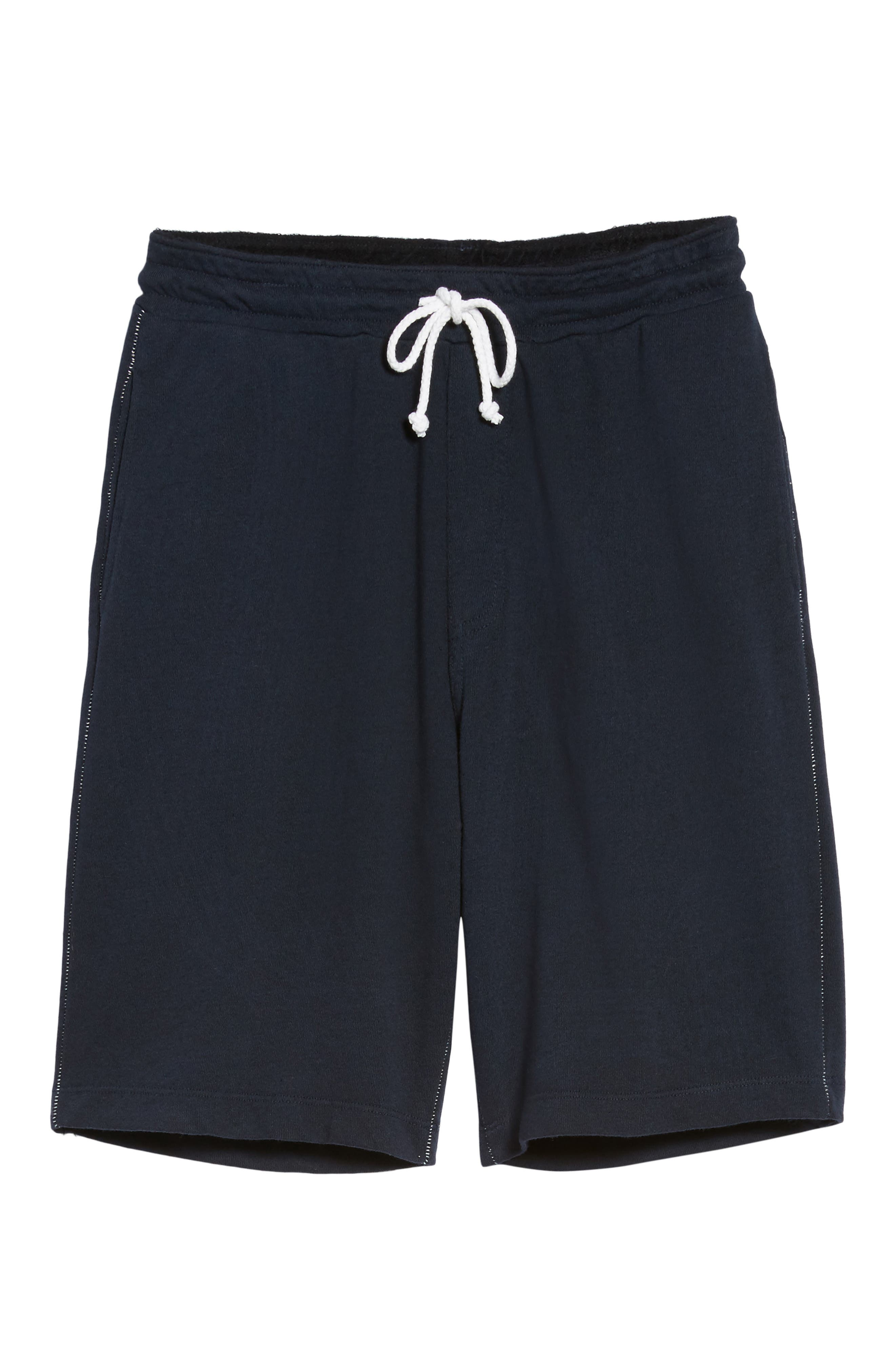 Lounge Sweat Shorts,                             Alternate thumbnail 6, color,                             Navy