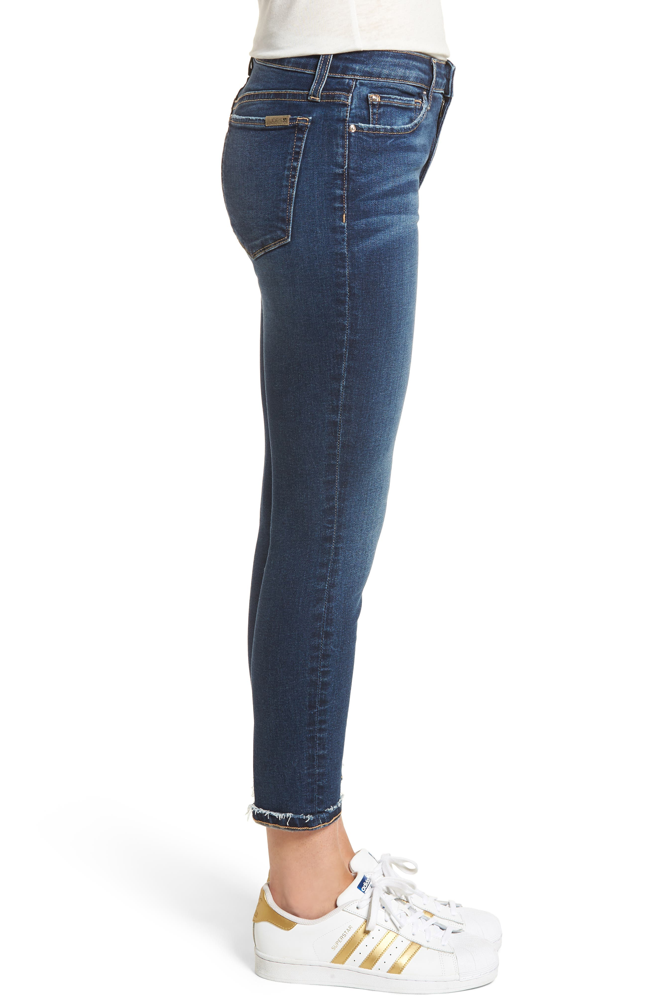 Flawless - Icon Crop Skinny Jeans,                             Alternate thumbnail 4, color,                             Madisen