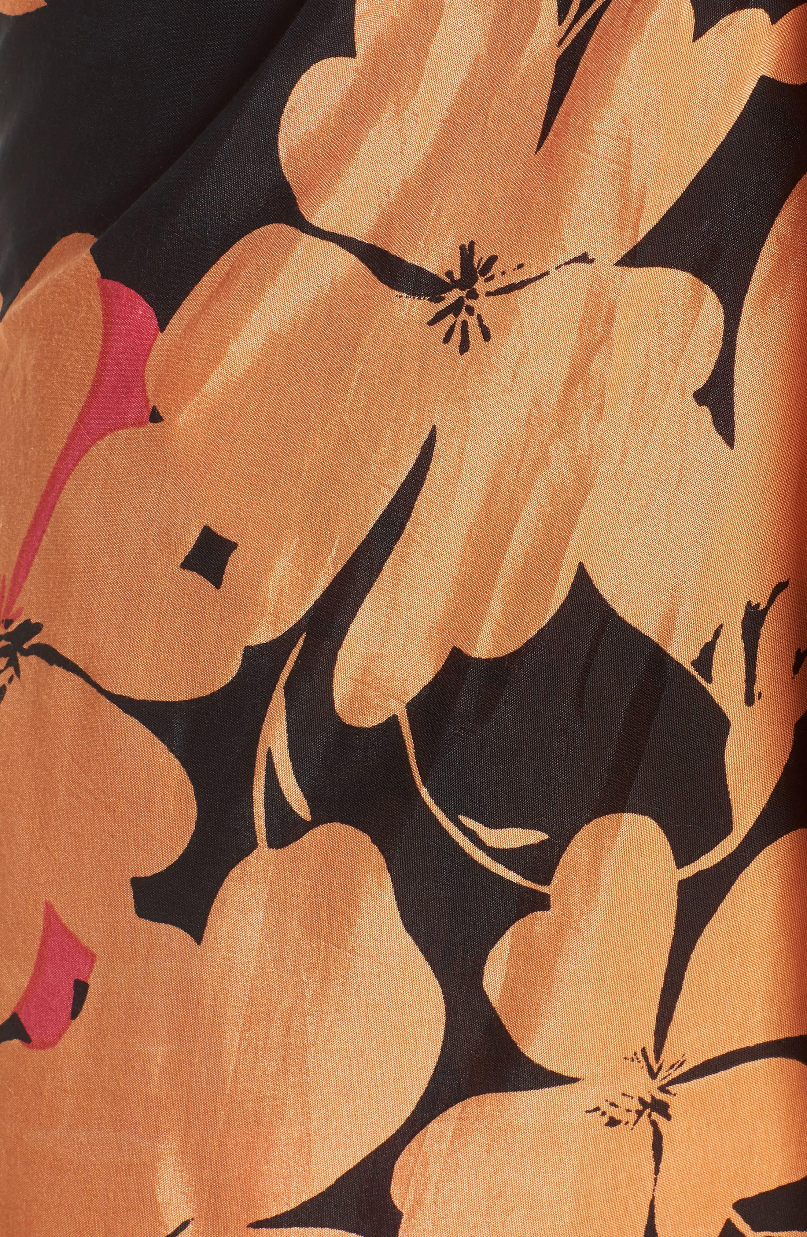 Sarong Time Wrap,                             Alternate thumbnail 5, color,                             Black