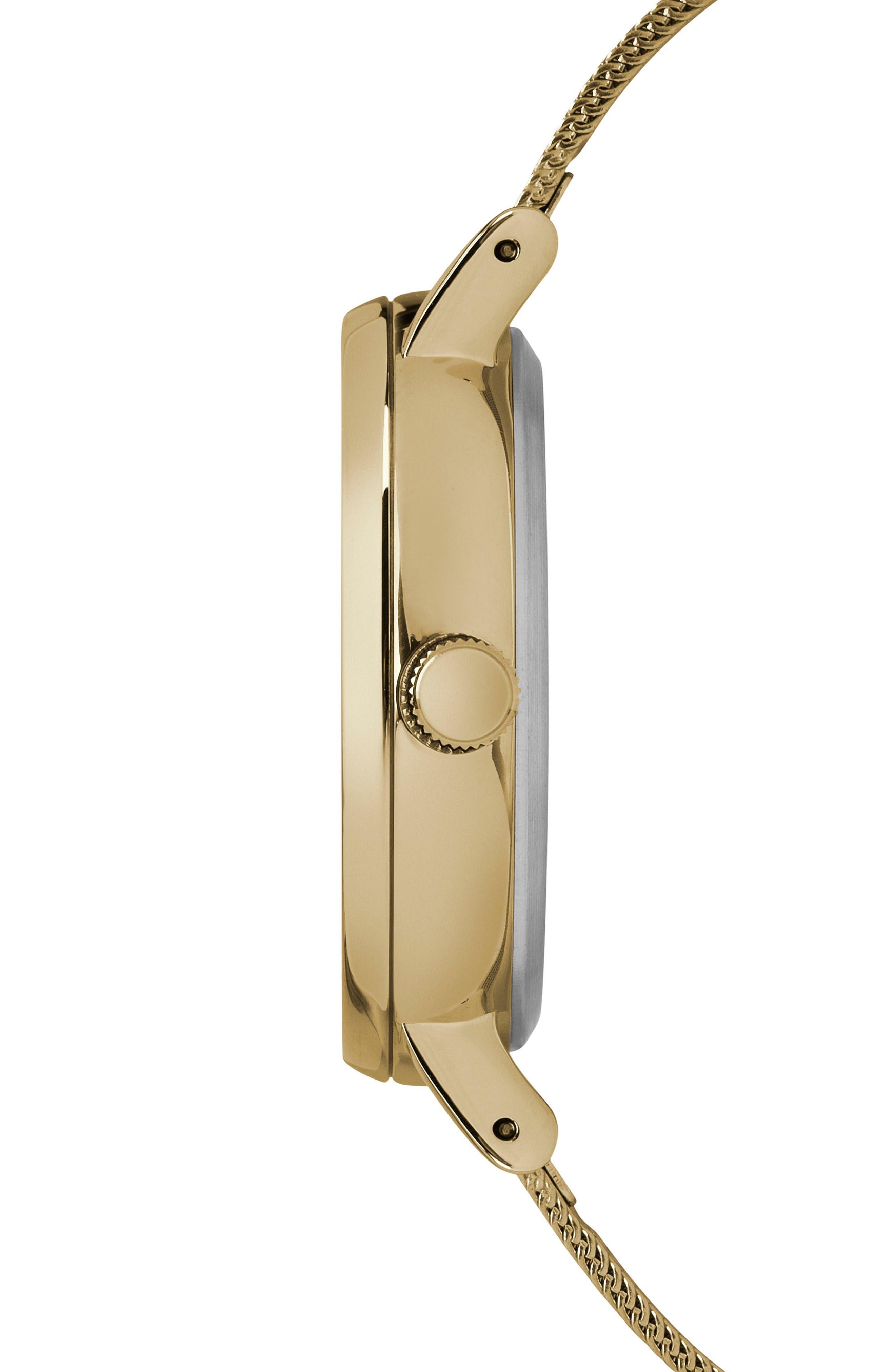 Alternate Image 3  - Timex Fairfield Mesh Strap Watch, 37mm