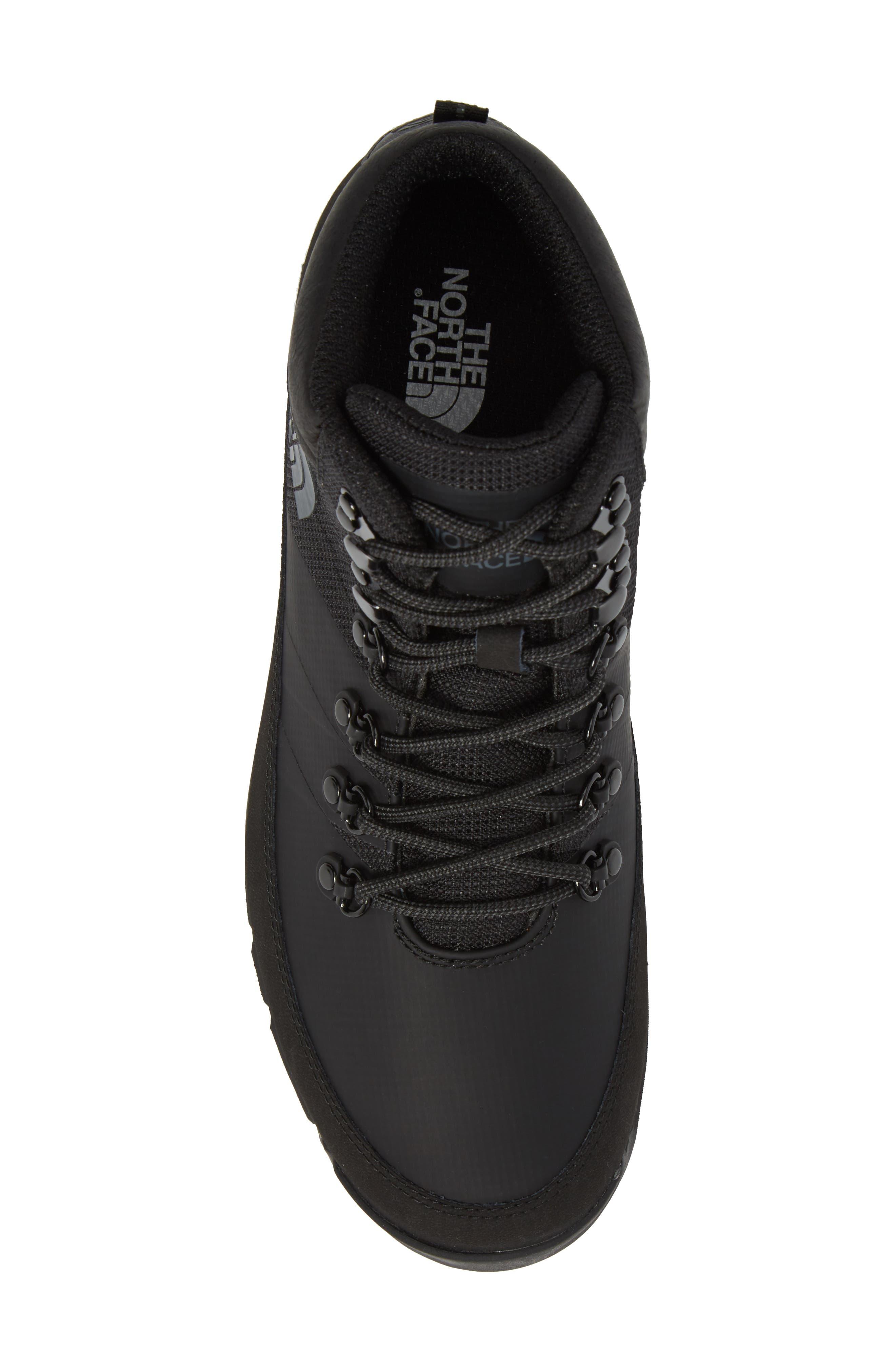 Back to Berkeley Mid AM Sneaker Boot,                             Alternate thumbnail 5, color,                             Tnf Black/ Tnf Black