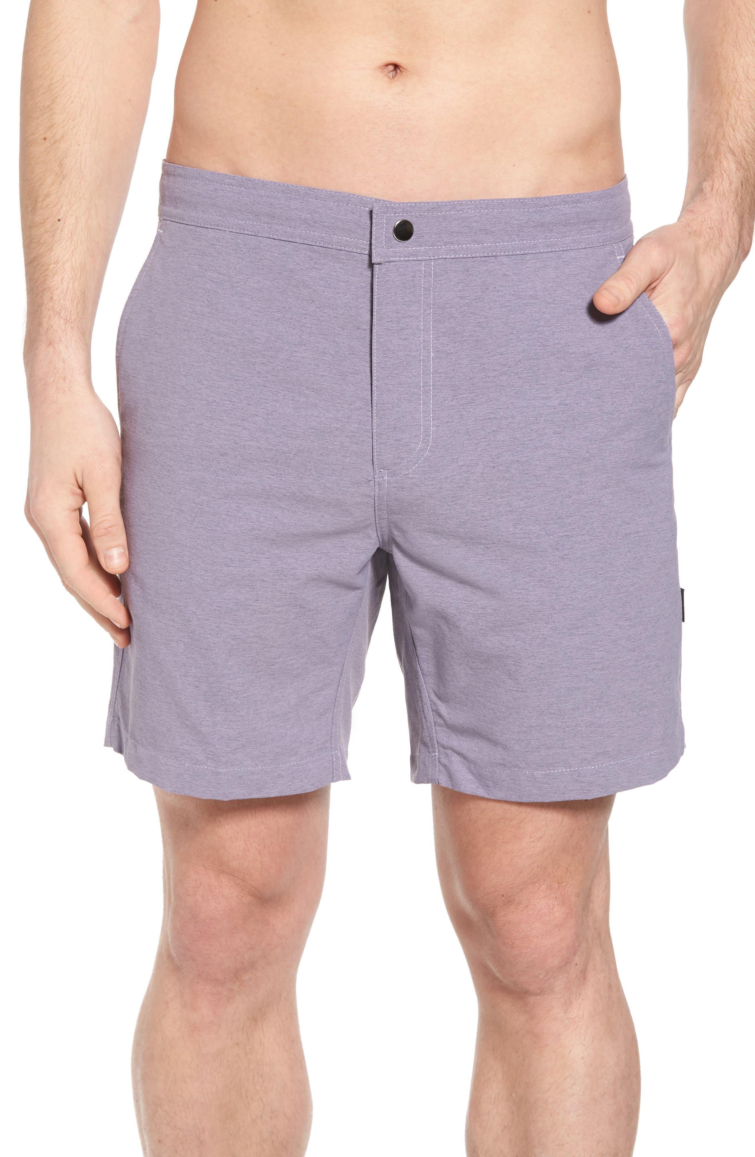 Bond Hybrid Shorts,                             Main thumbnail 1, color,                             Venice Purple