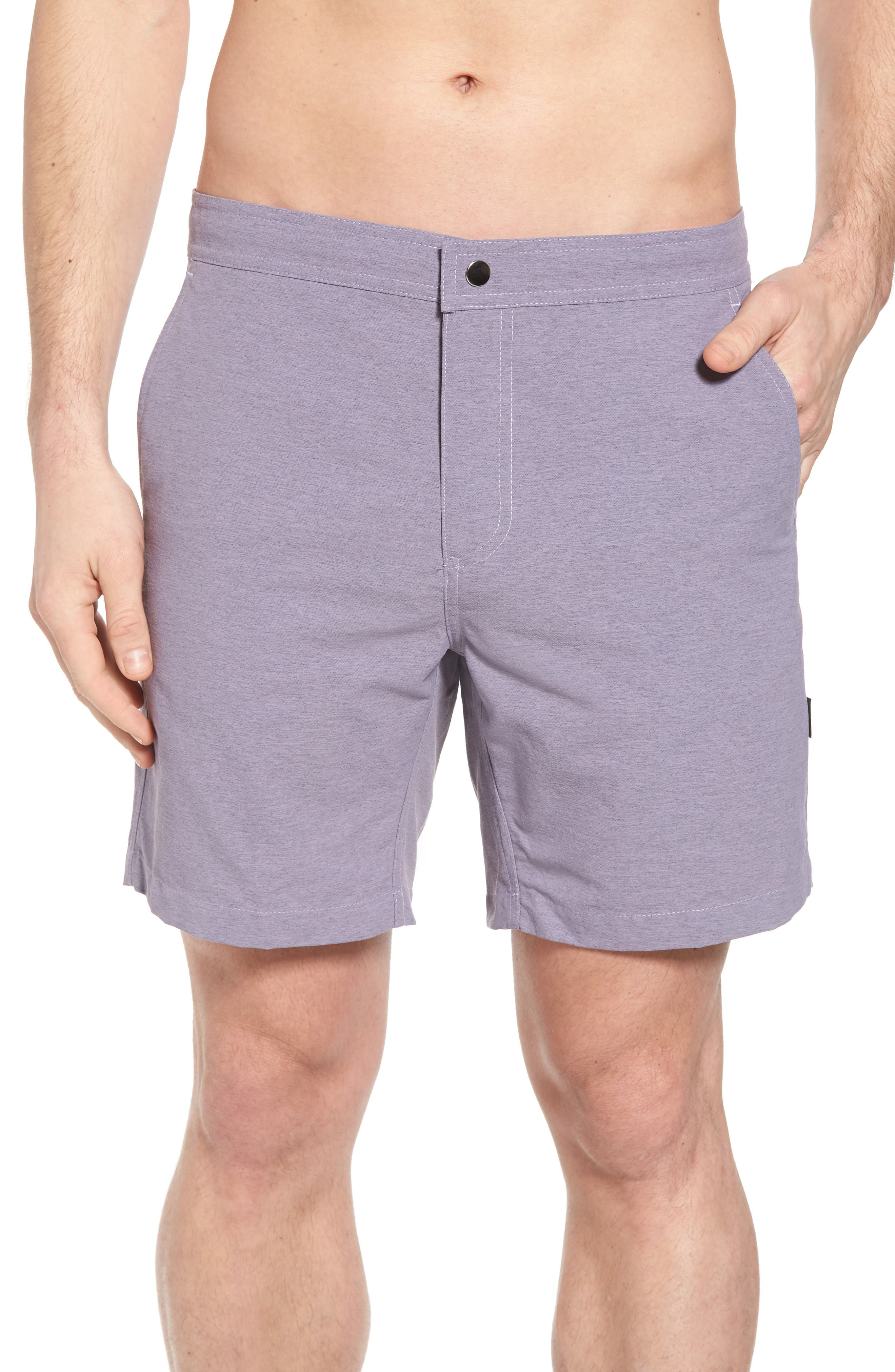 Bond Hybrid Shorts,                         Main,                         color, Venice Purple