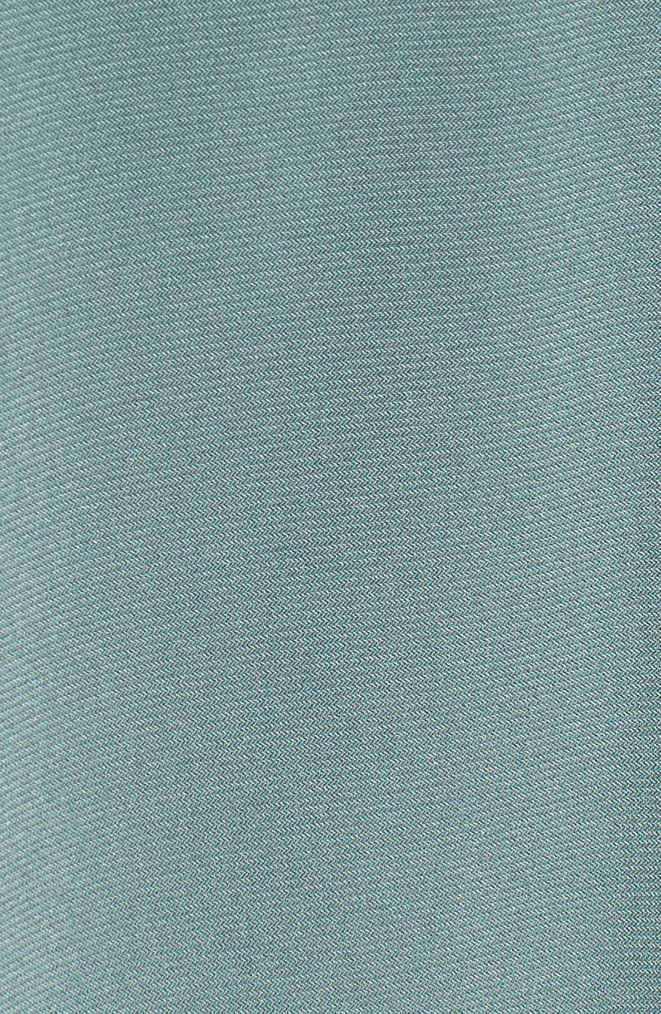 Tie Waist Maxi Dress,                             Alternate thumbnail 5, color,                             738-Tropic Moss