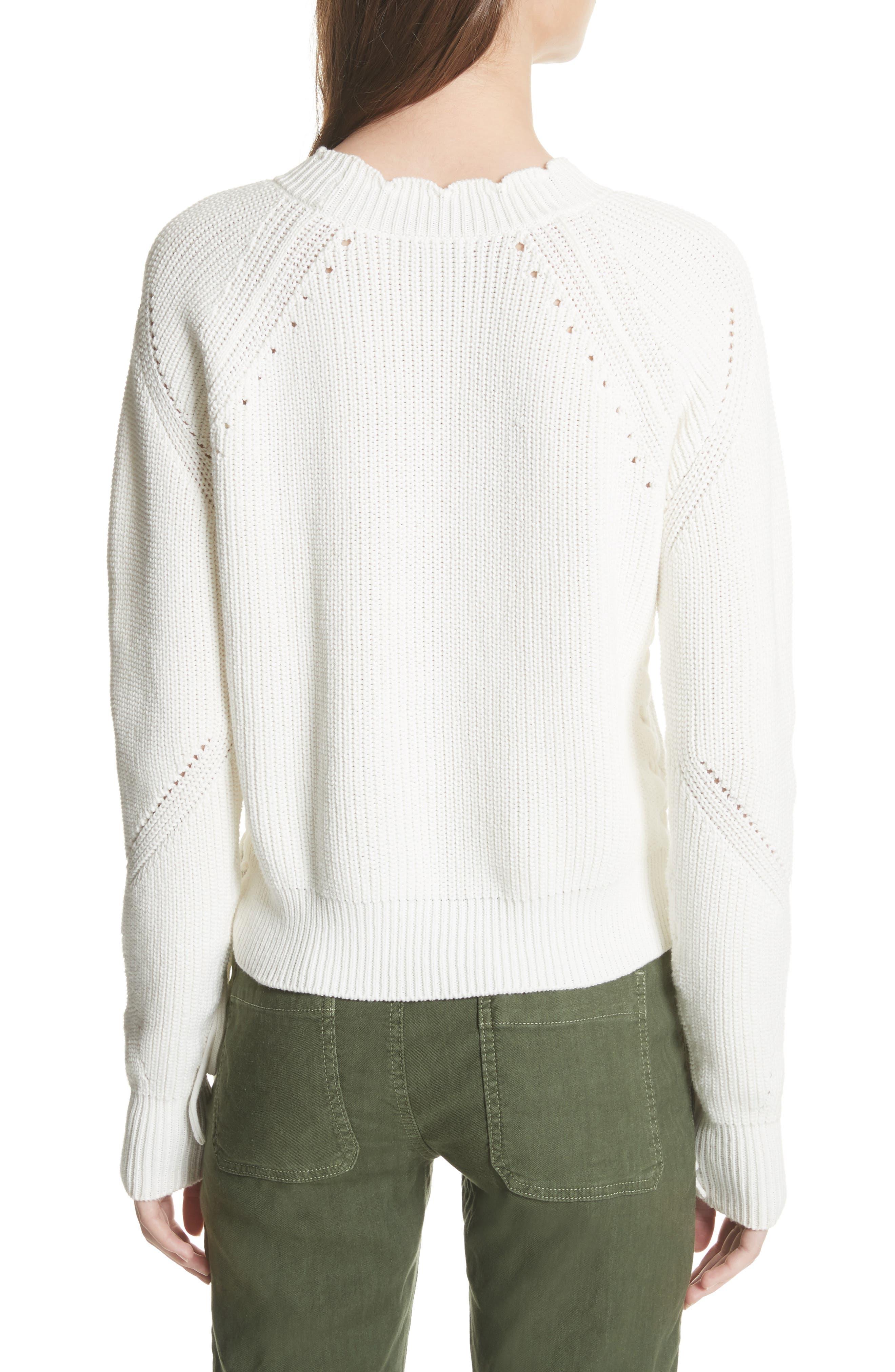 Adanya Sweater,                             Alternate thumbnail 2, color,                             Porcelain
