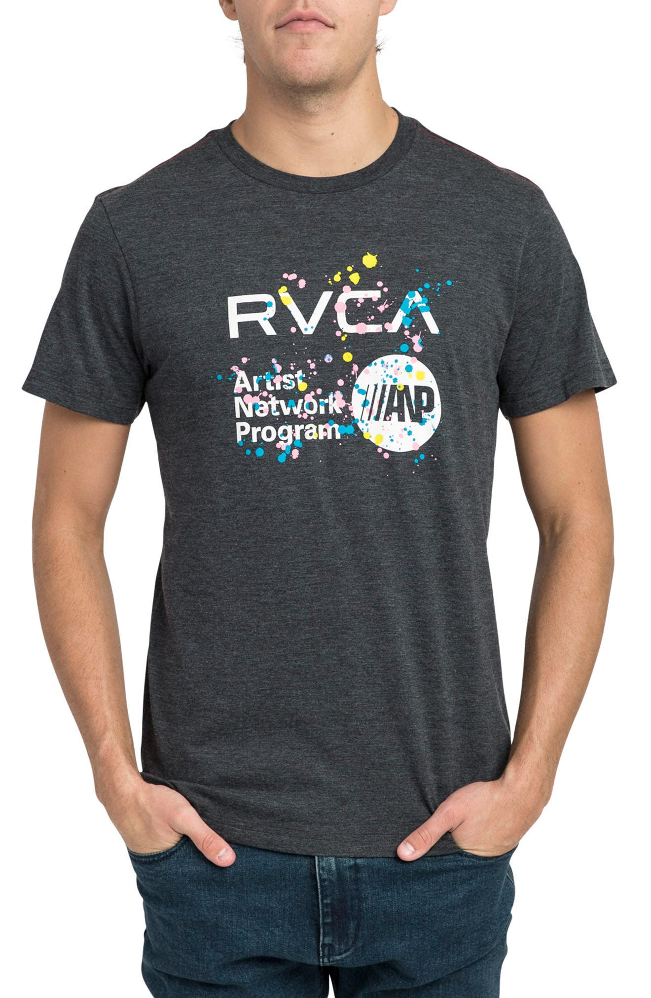 Dmote ANP T-Shirt,                         Main,                         color, Black