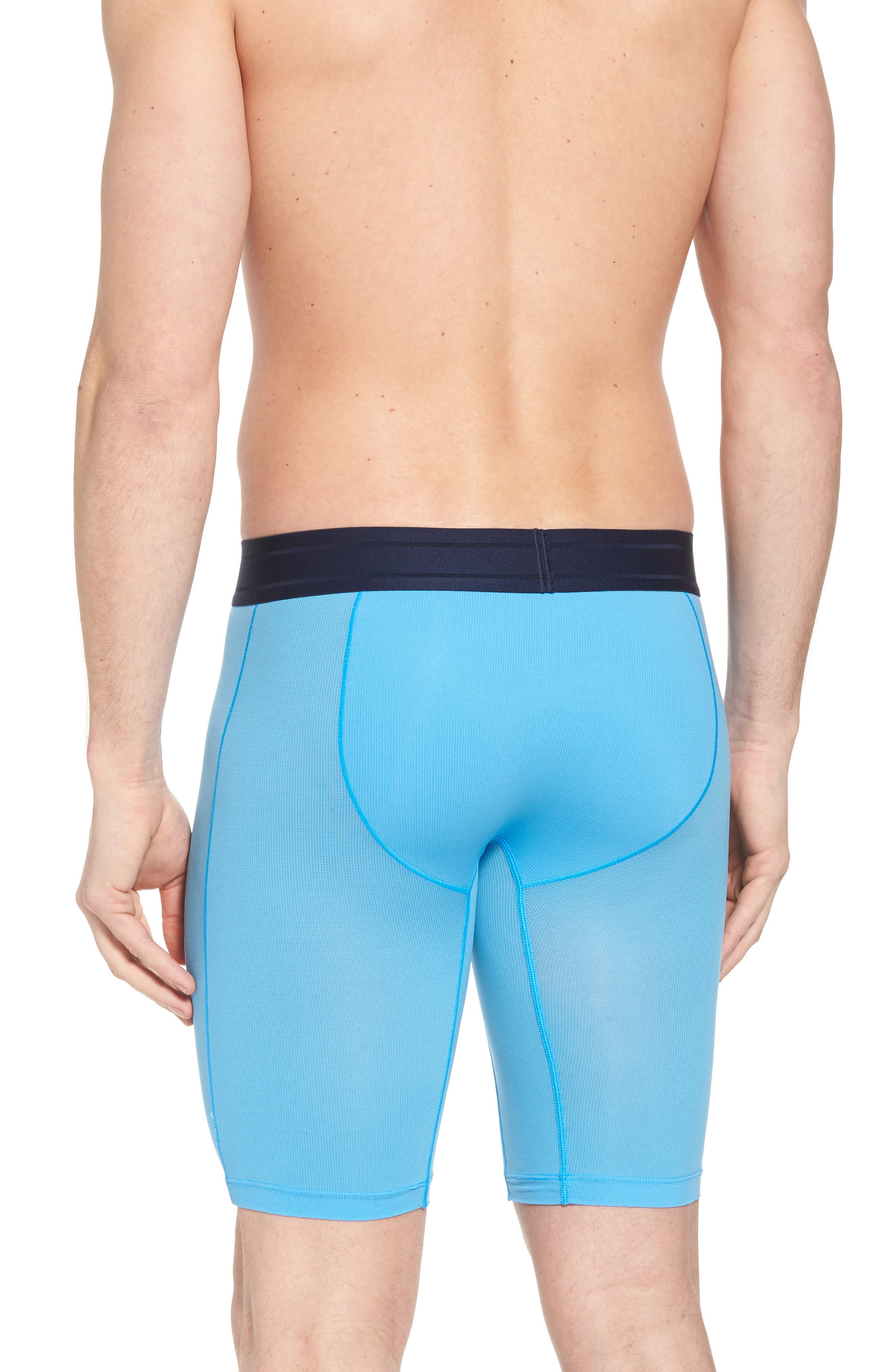 Air Boxer Briefs,                             Alternate thumbnail 2, color,                             Azure