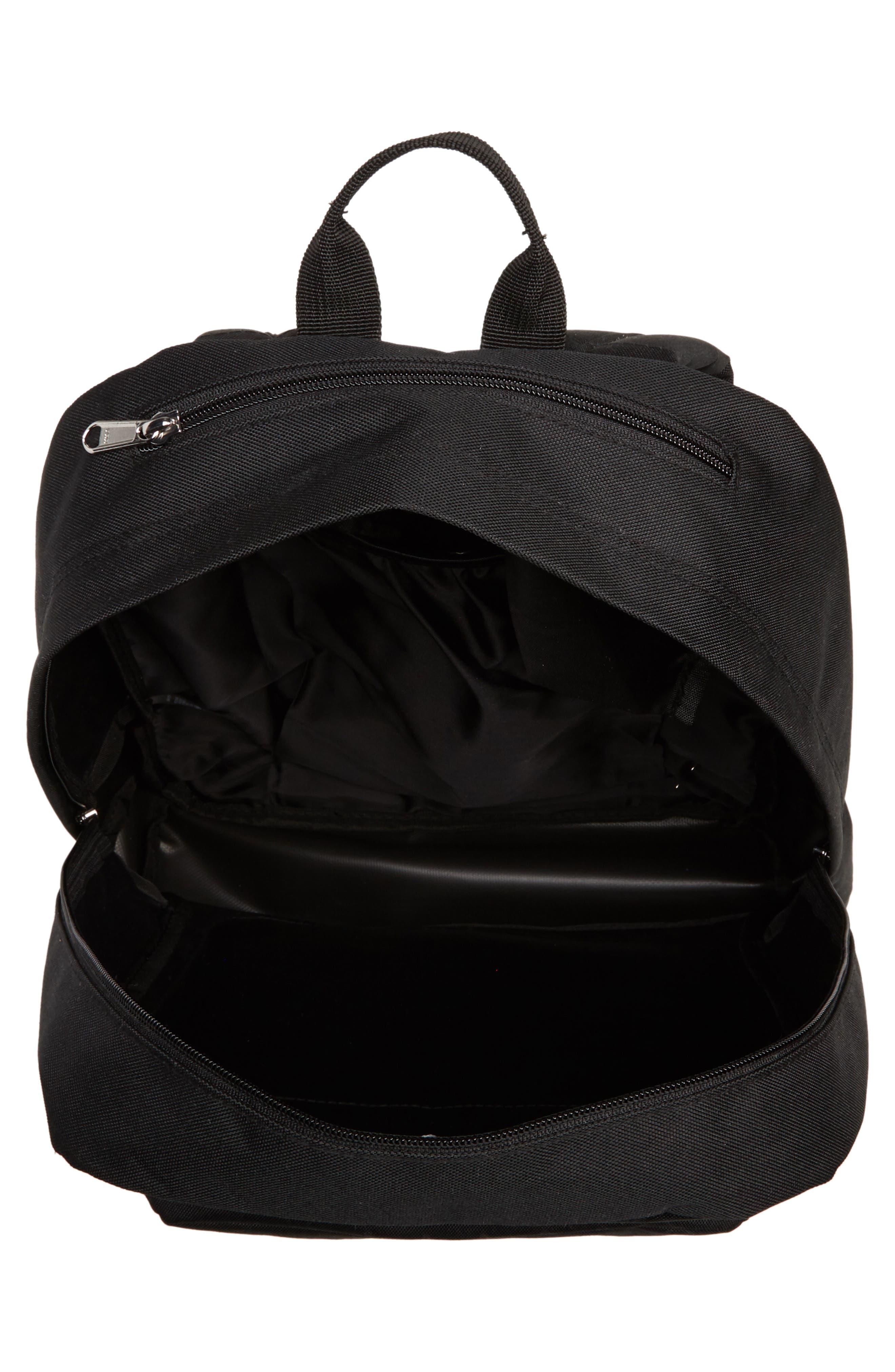 Drop Out Juvee Backpack,                             Alternate thumbnail 4, color,                             Black