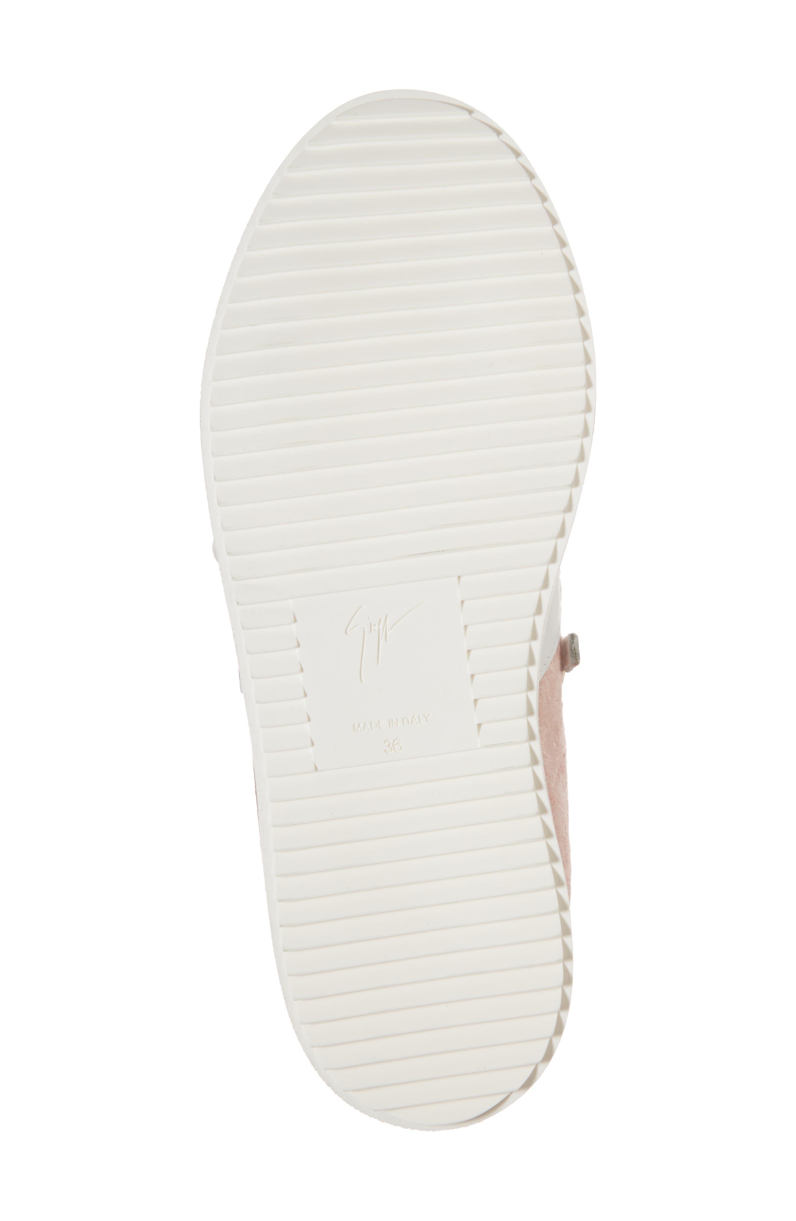 Alternate Image 6  - Giuseppe Zanotti Mid Top Platform Sneaker (Women)