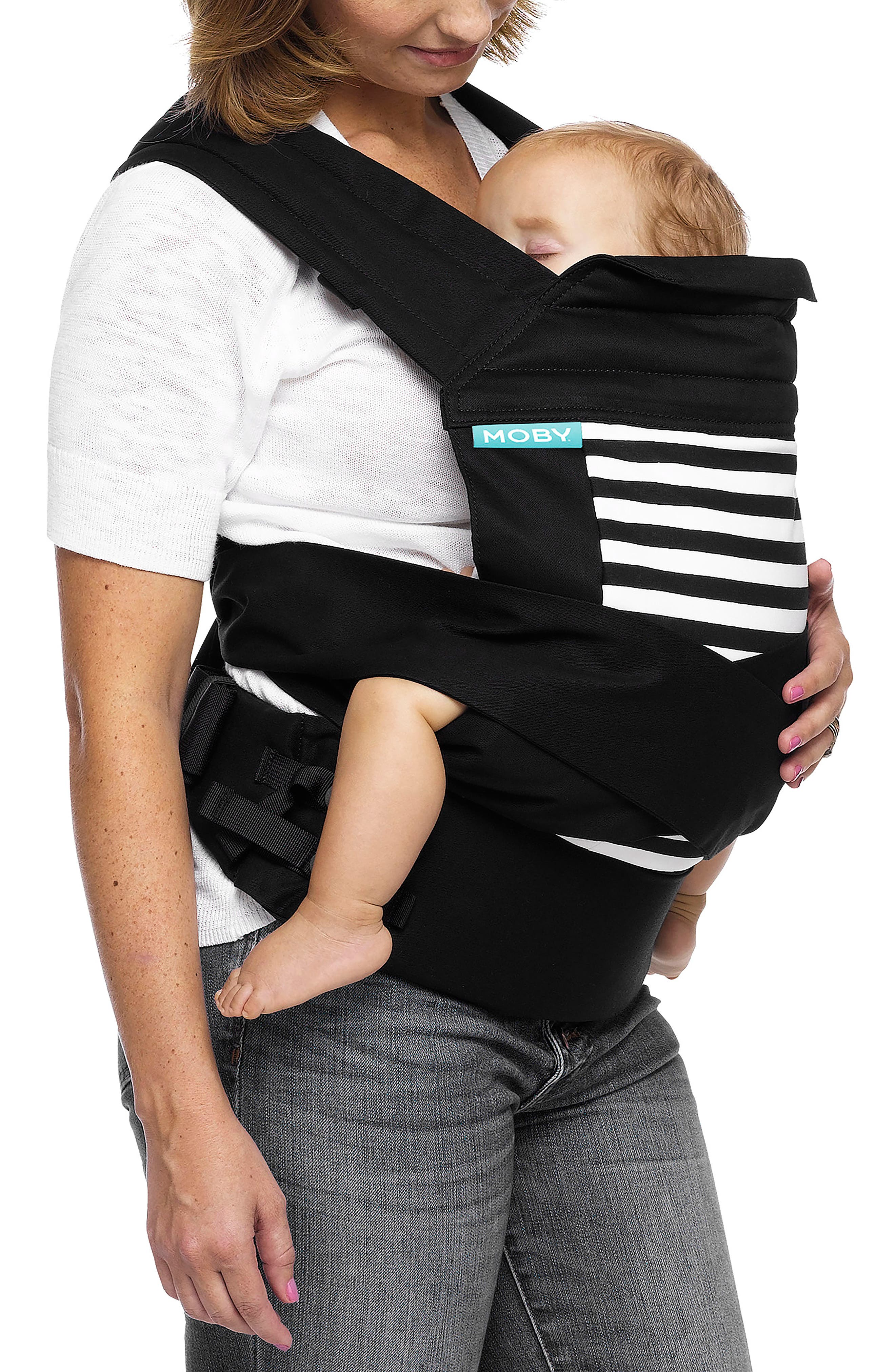 Wrap Buckle Baby Carrier,                             Alternate thumbnail 2, color,                             Stripes