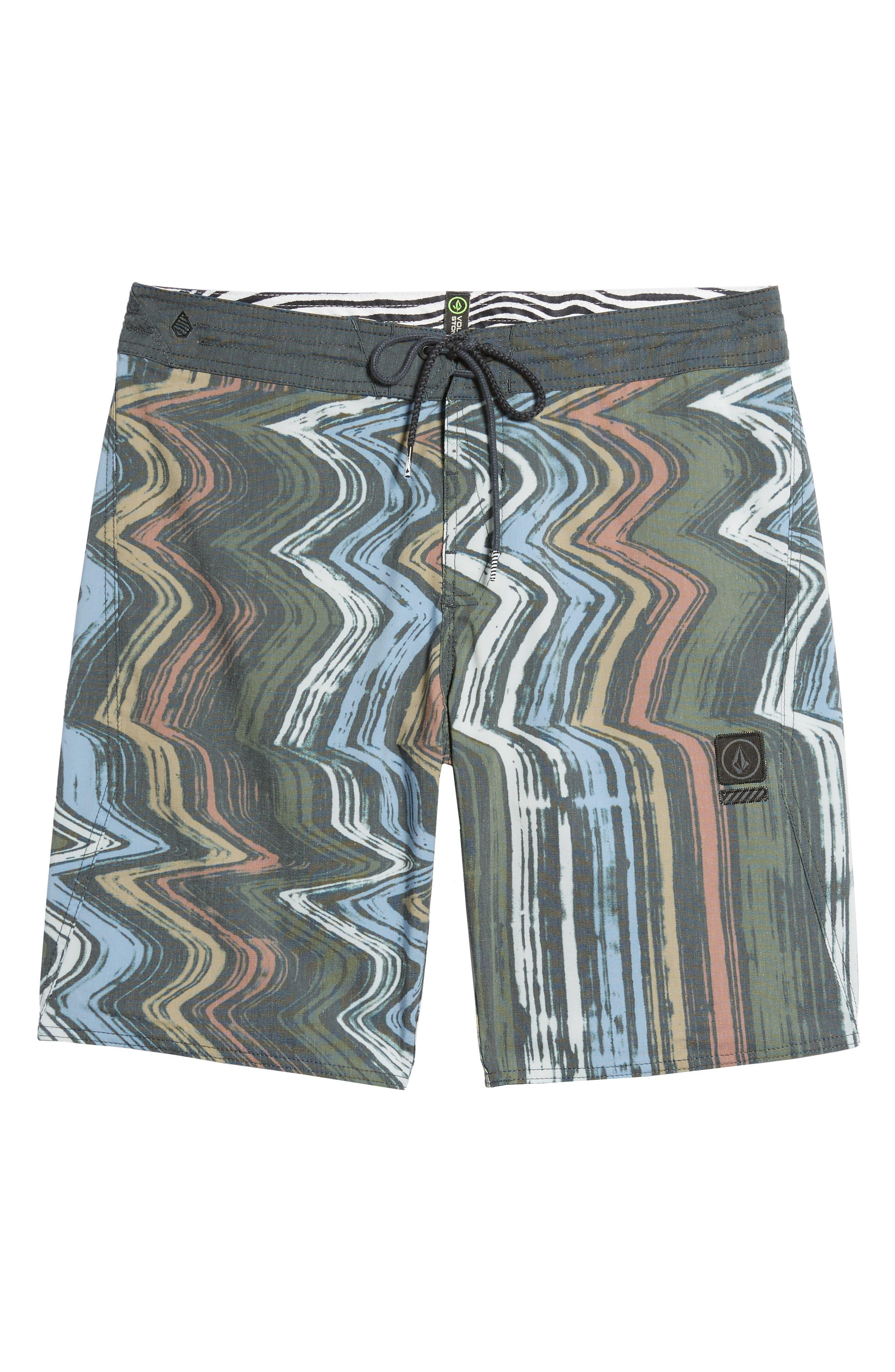 Lo-Fi Stoney Board Shorts,                             Alternate thumbnail 6, color,                             Stealth