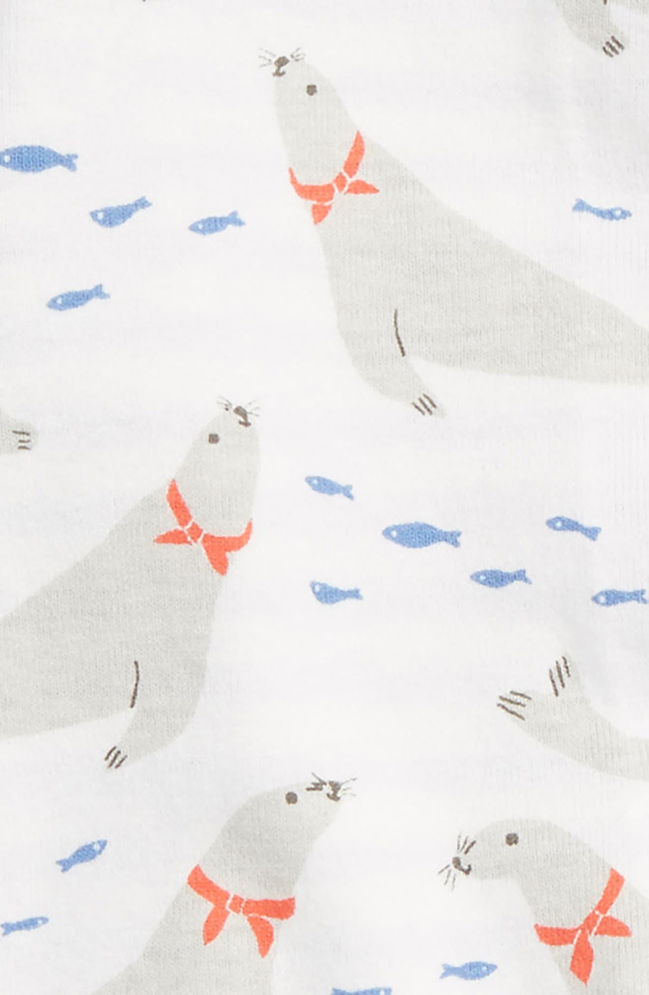 Seals Reversible Organic Cotton Jacket,                             Alternate thumbnail 3, color,                             Ivory Seals