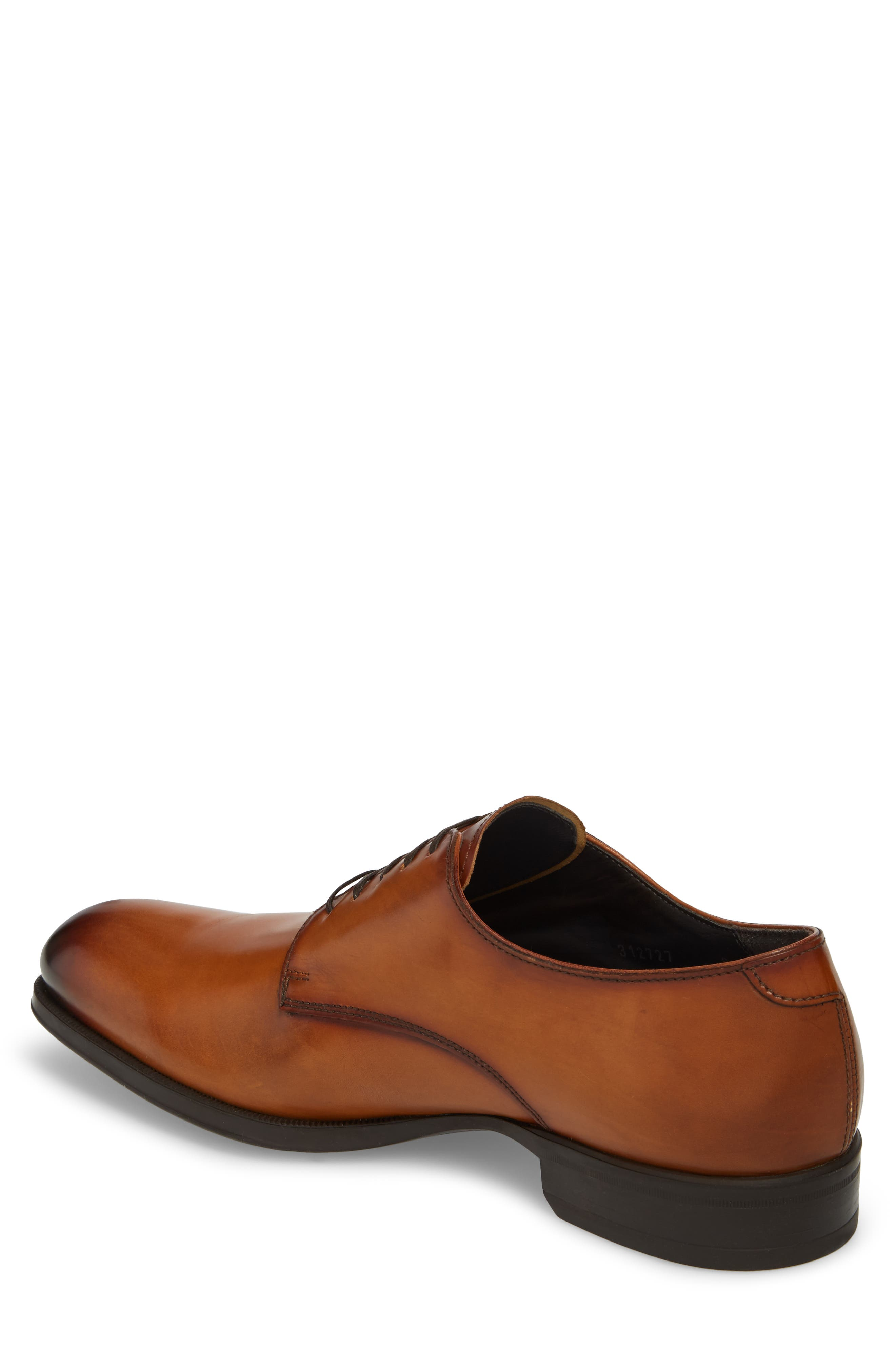 'Buchanan' Plain Toe Derby,                             Alternate thumbnail 2, color,                             Cuoio