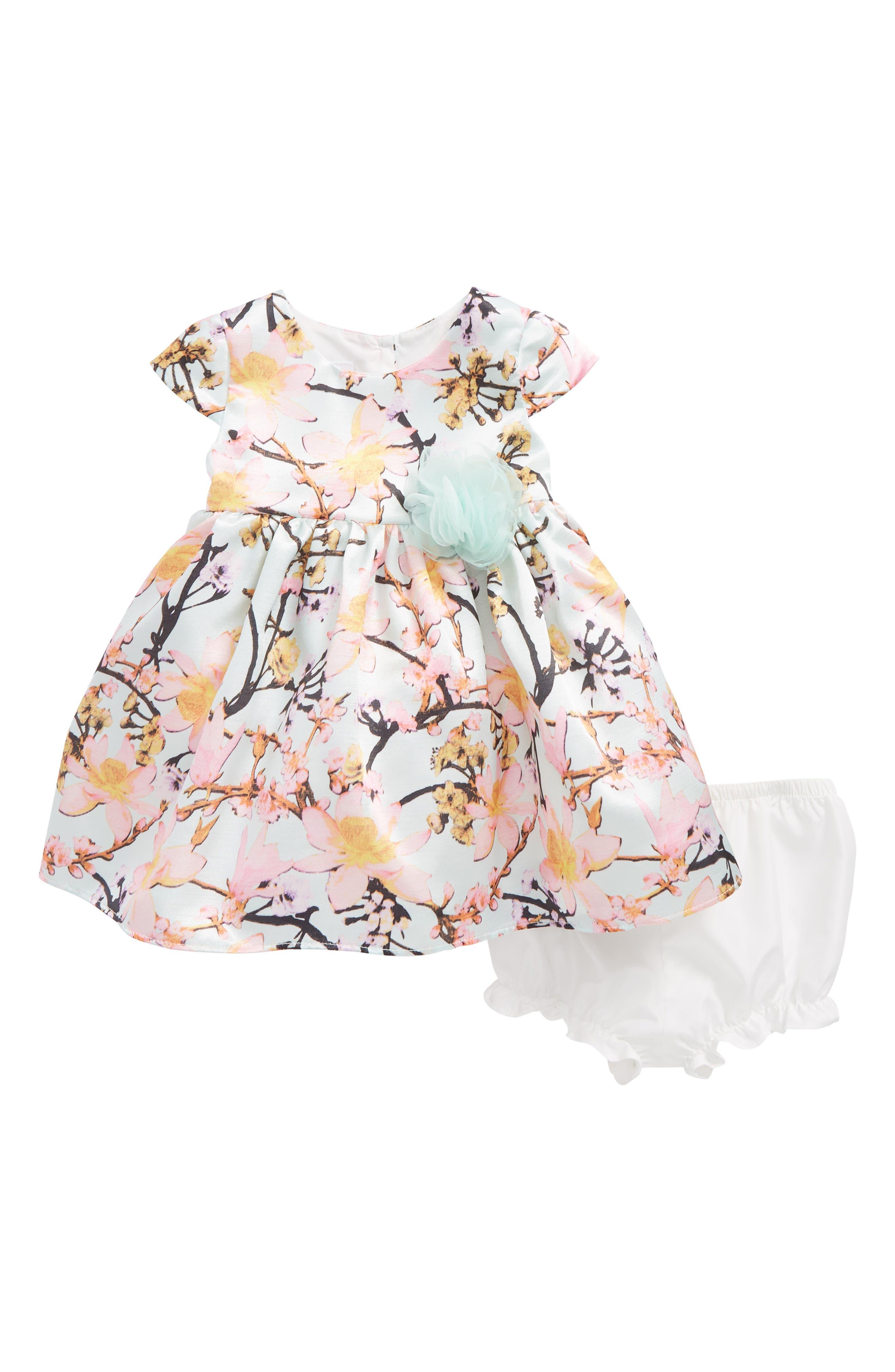 Frais Floral Garden Dress (Baby Girls)