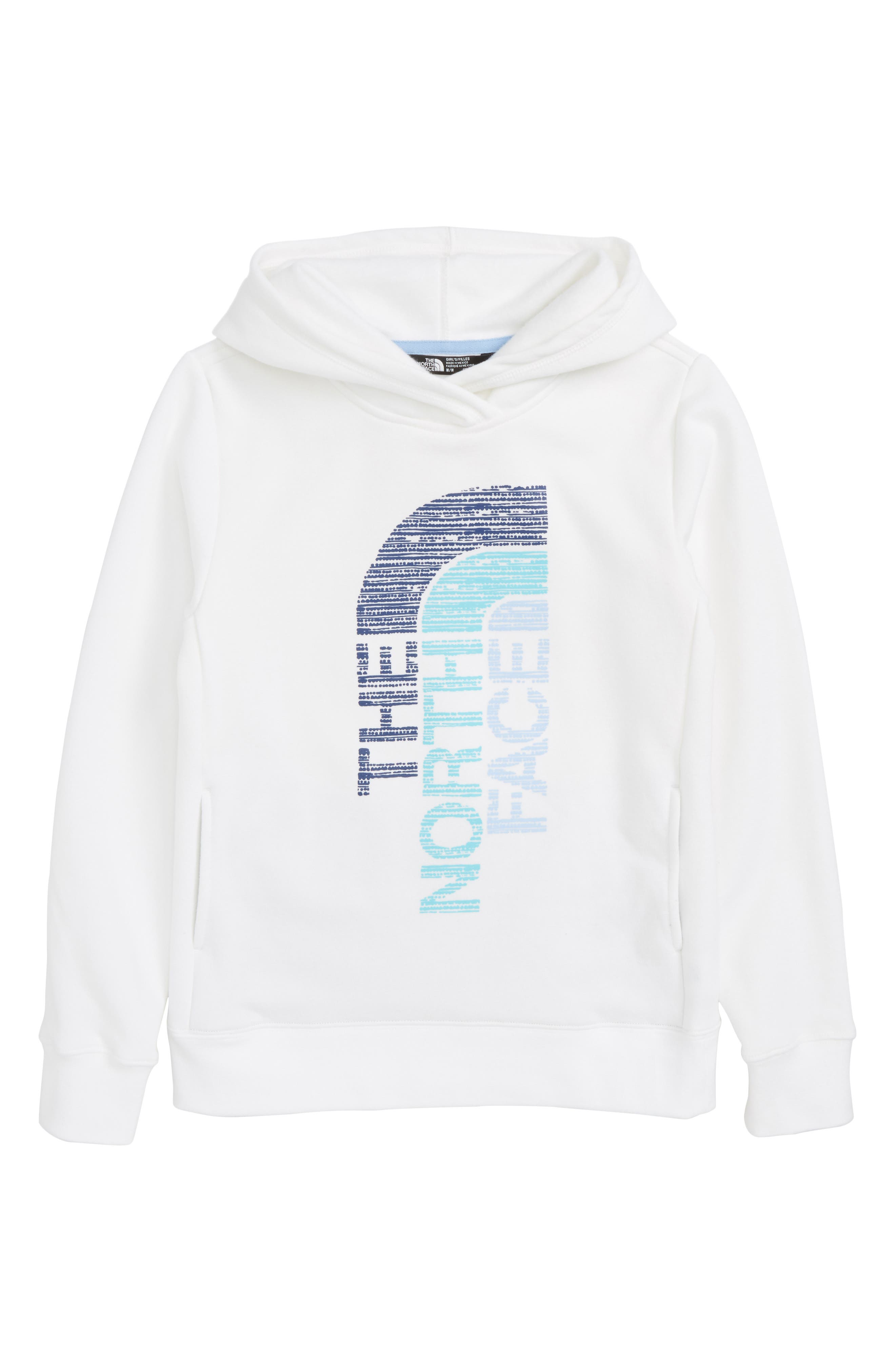 Trivert Pullover Hoodie,                             Main thumbnail 1, color,                             White