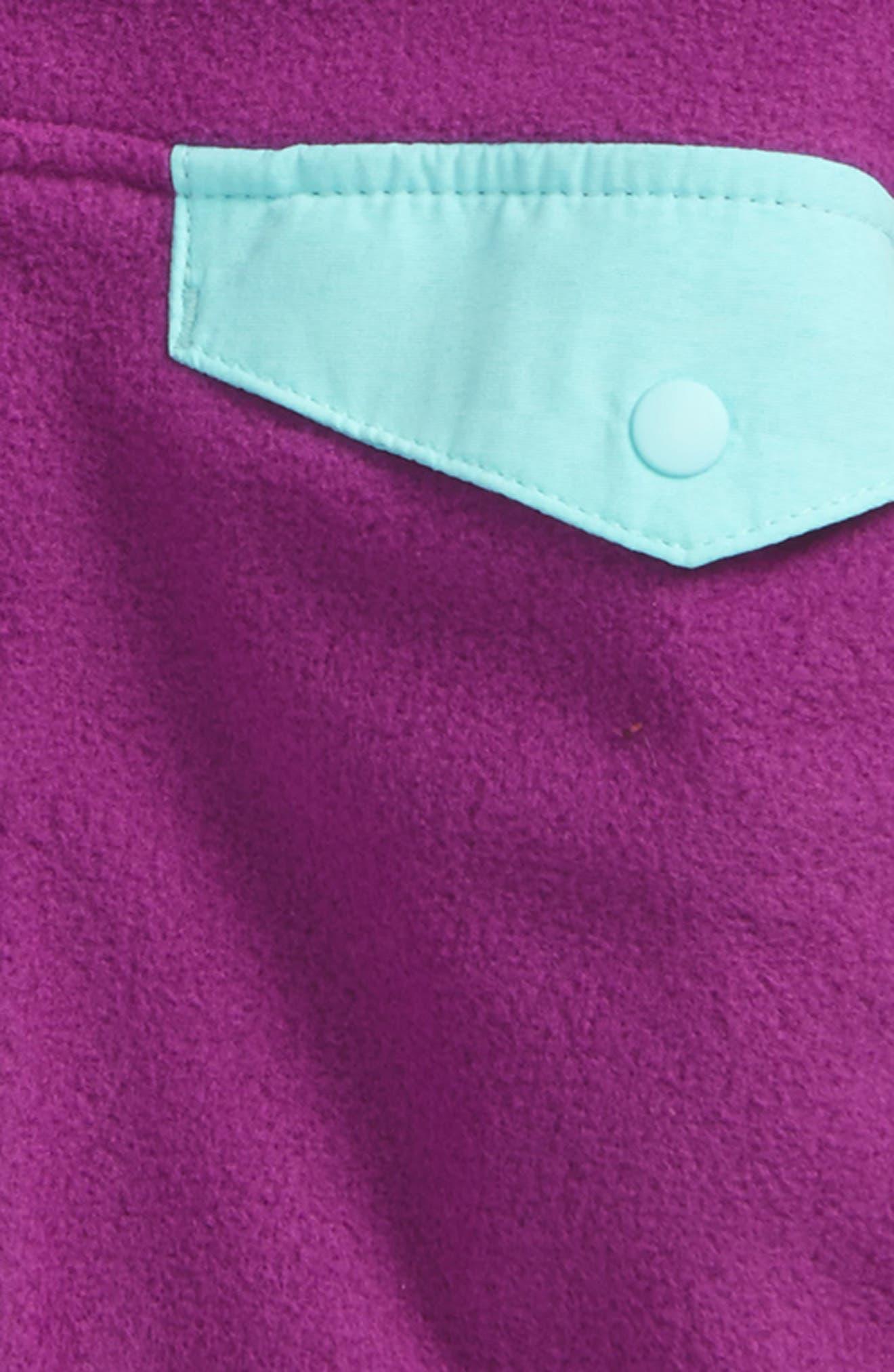 Micro D<sup>®</sup> Snap-T<sup>®</sup> Fleece Jacket,                             Alternate thumbnail 2, color,                             Ikp Ikat Purple