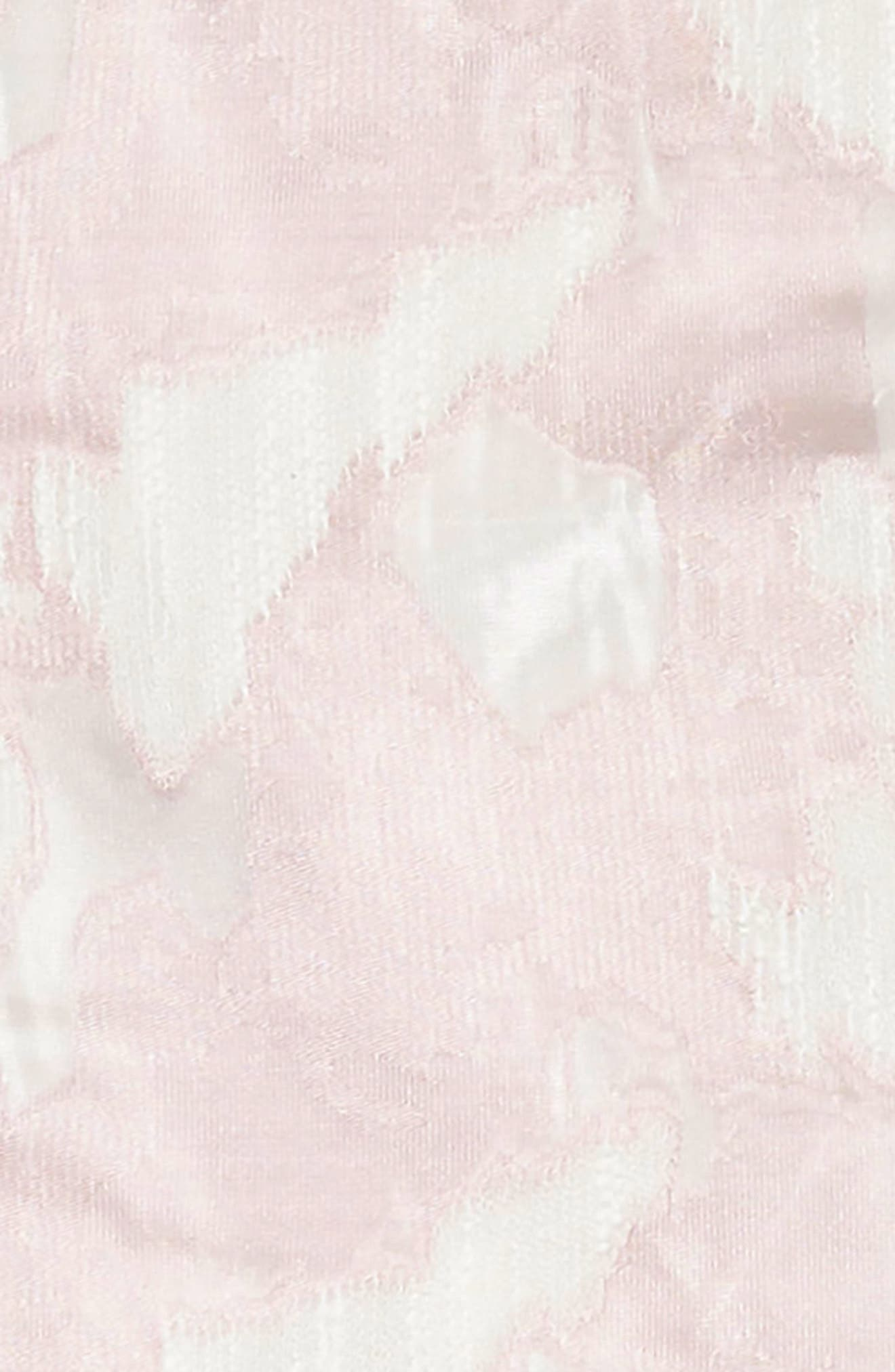 Chiffon Party Dress,                             Alternate thumbnail 3, color,                             Pink/ White