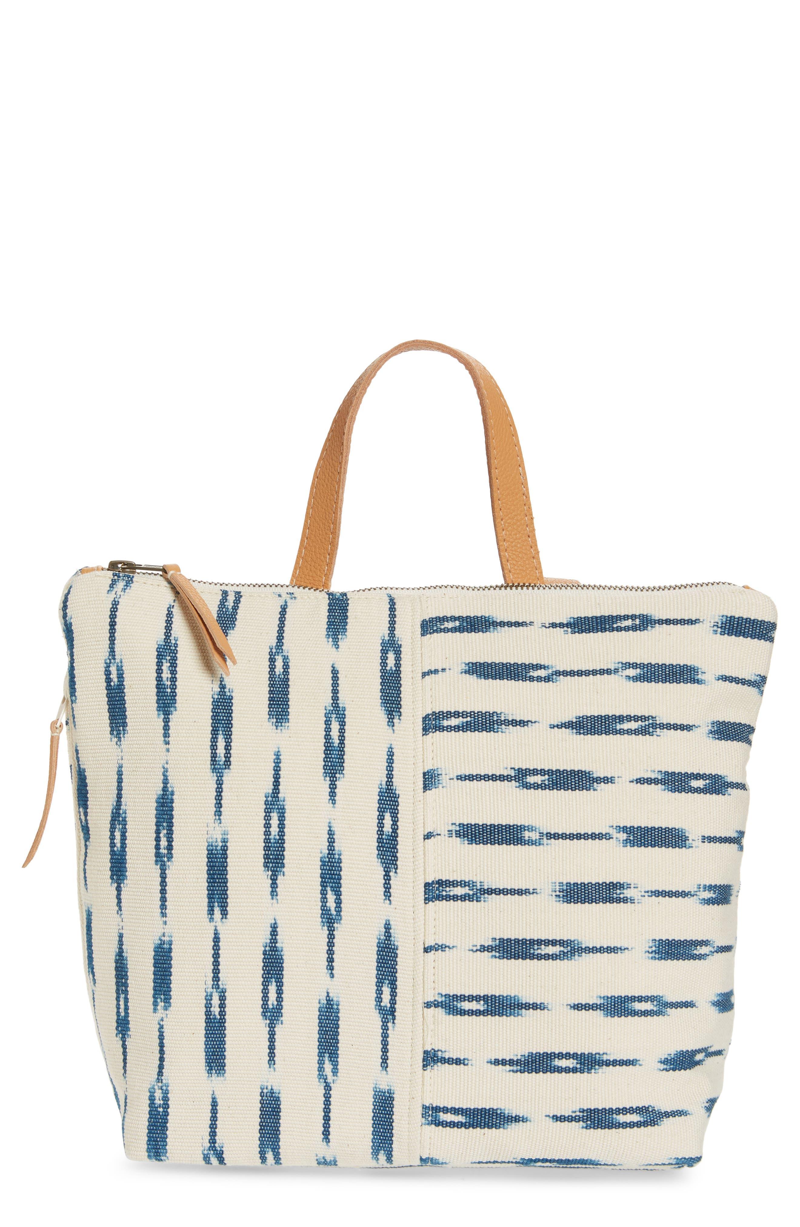 Mini Lobena Backpack,                             Main thumbnail 1, color,                             Indigo Jaspe