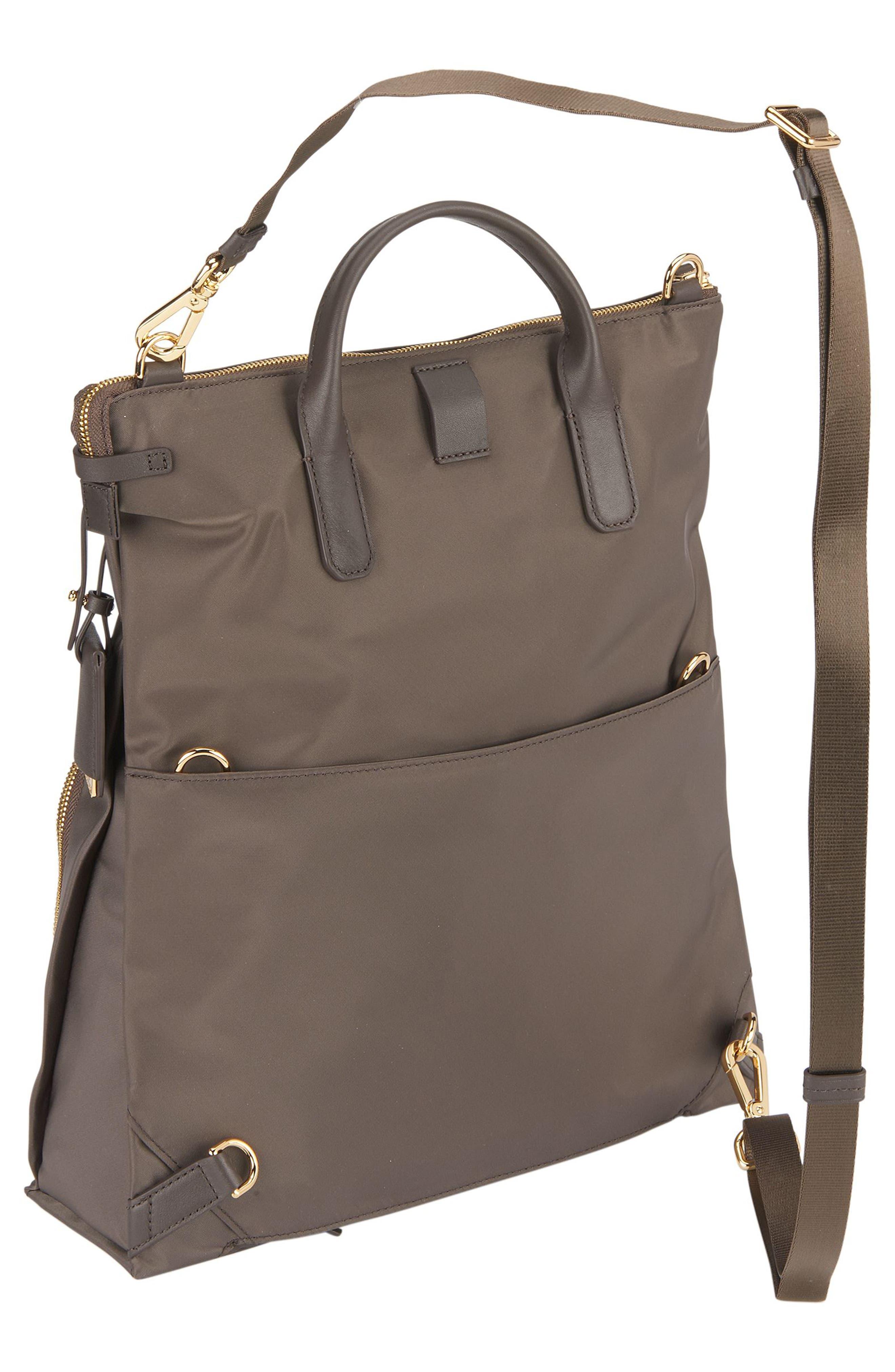 Voyageur - Jackie Convertible Crossbody Bag,                             Alternate thumbnail 5, color,                             Mink