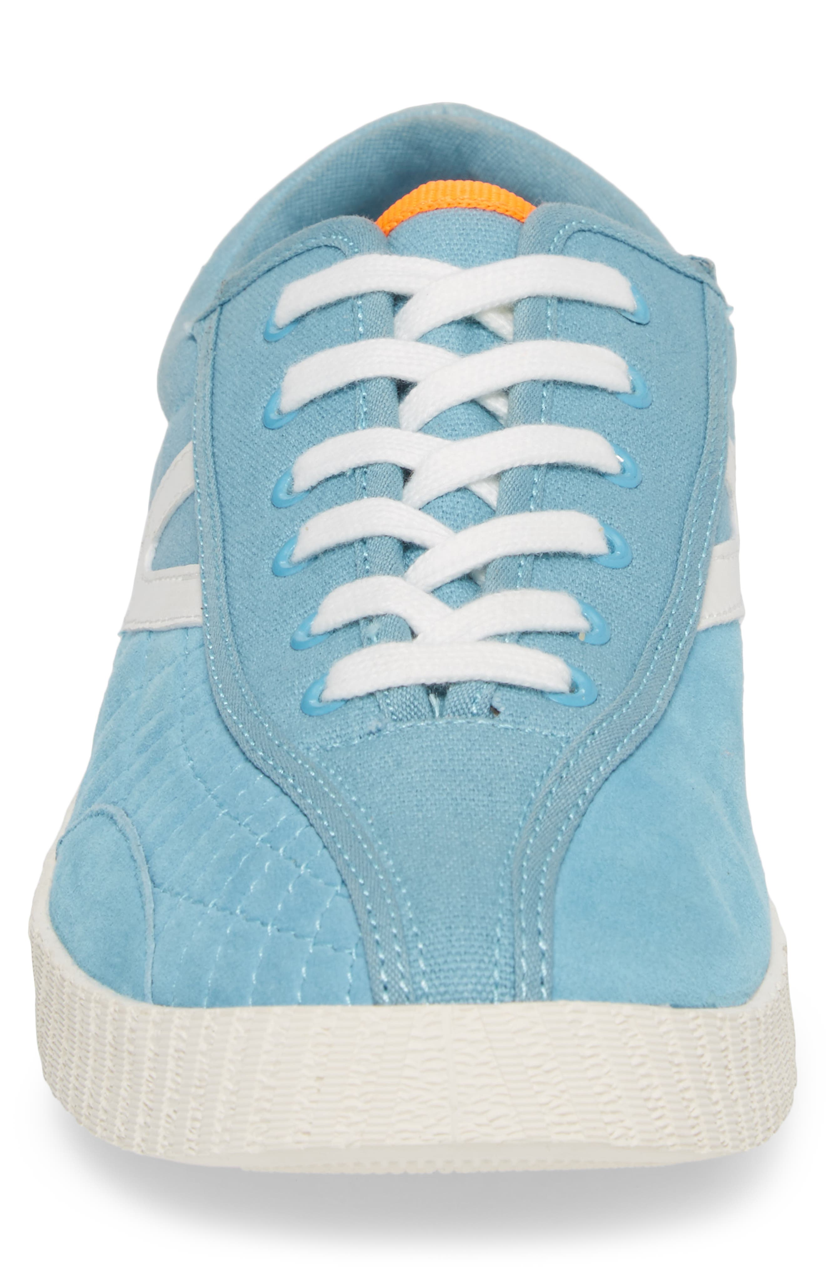 Andre 3000 Nylite Low Top Sneaker,                             Alternate thumbnail 4, color,                             Baby Blue Canvas