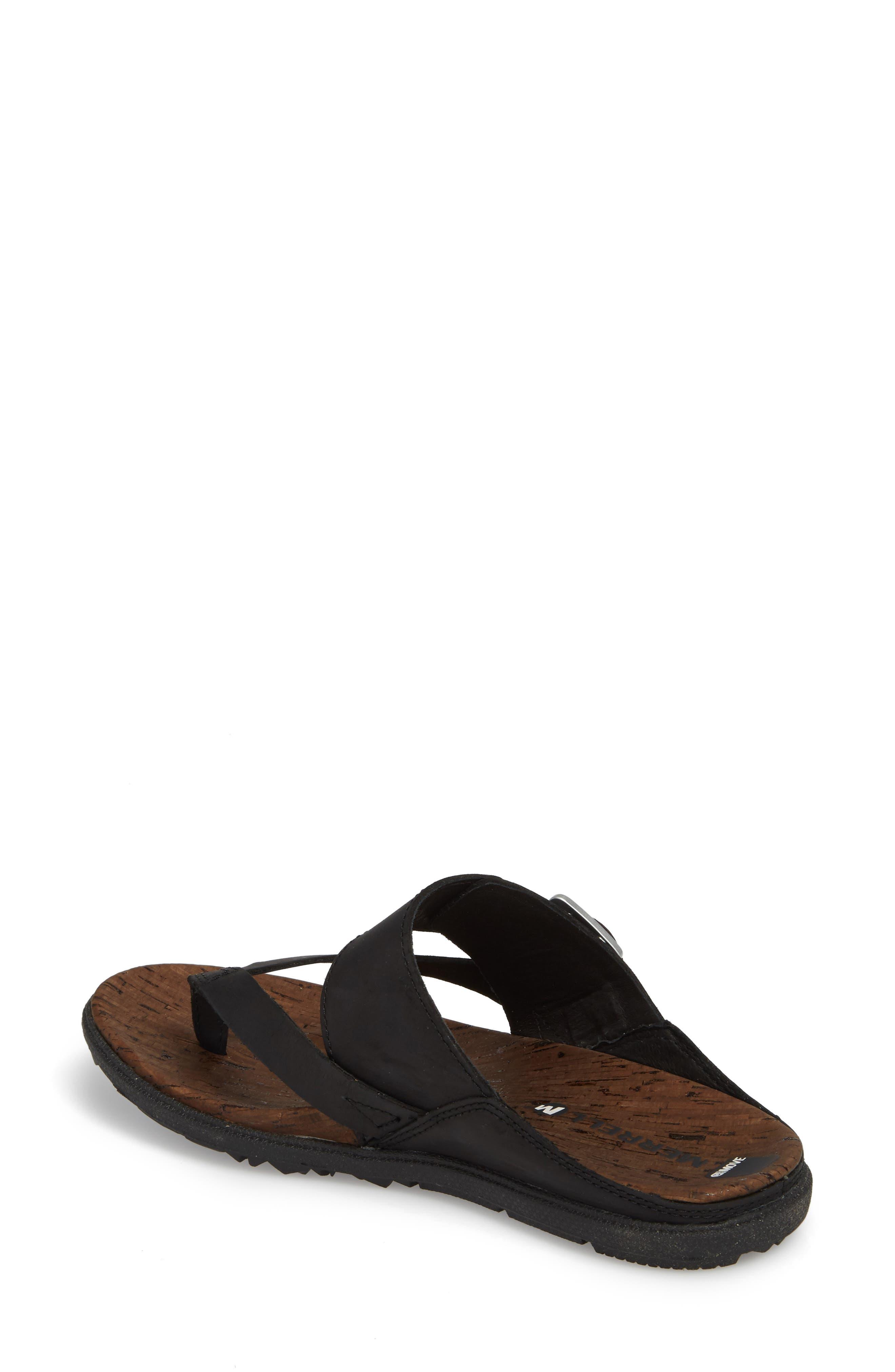 Alternate Image 2  - Merrell Around Town Buckle Slide Sandal (Women)