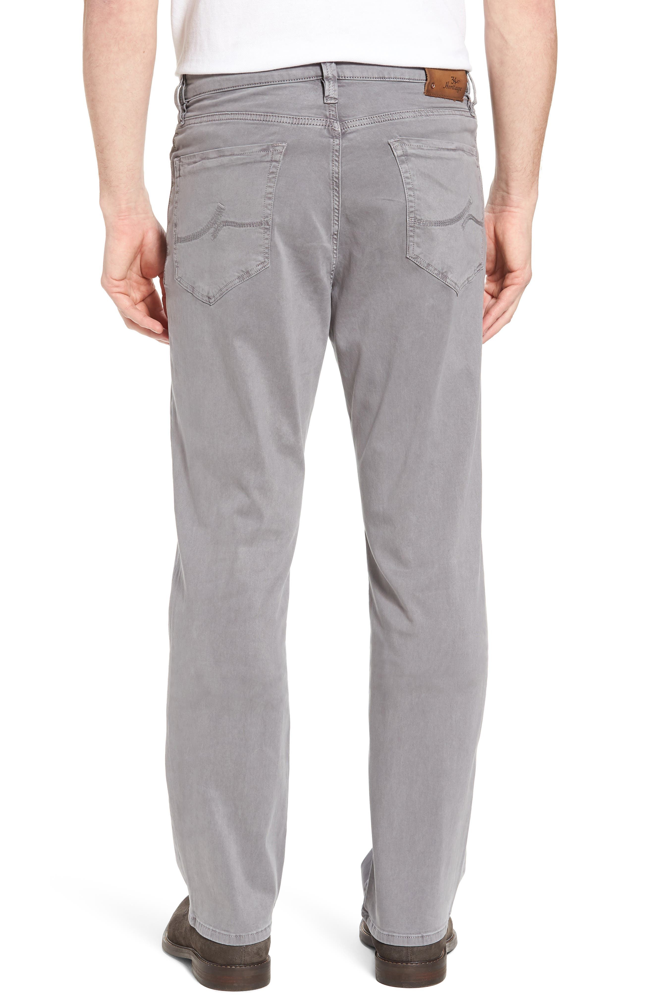 Charisma Relaxed Fit Twill Pants,                             Alternate thumbnail 2, color,                             Shark Twill