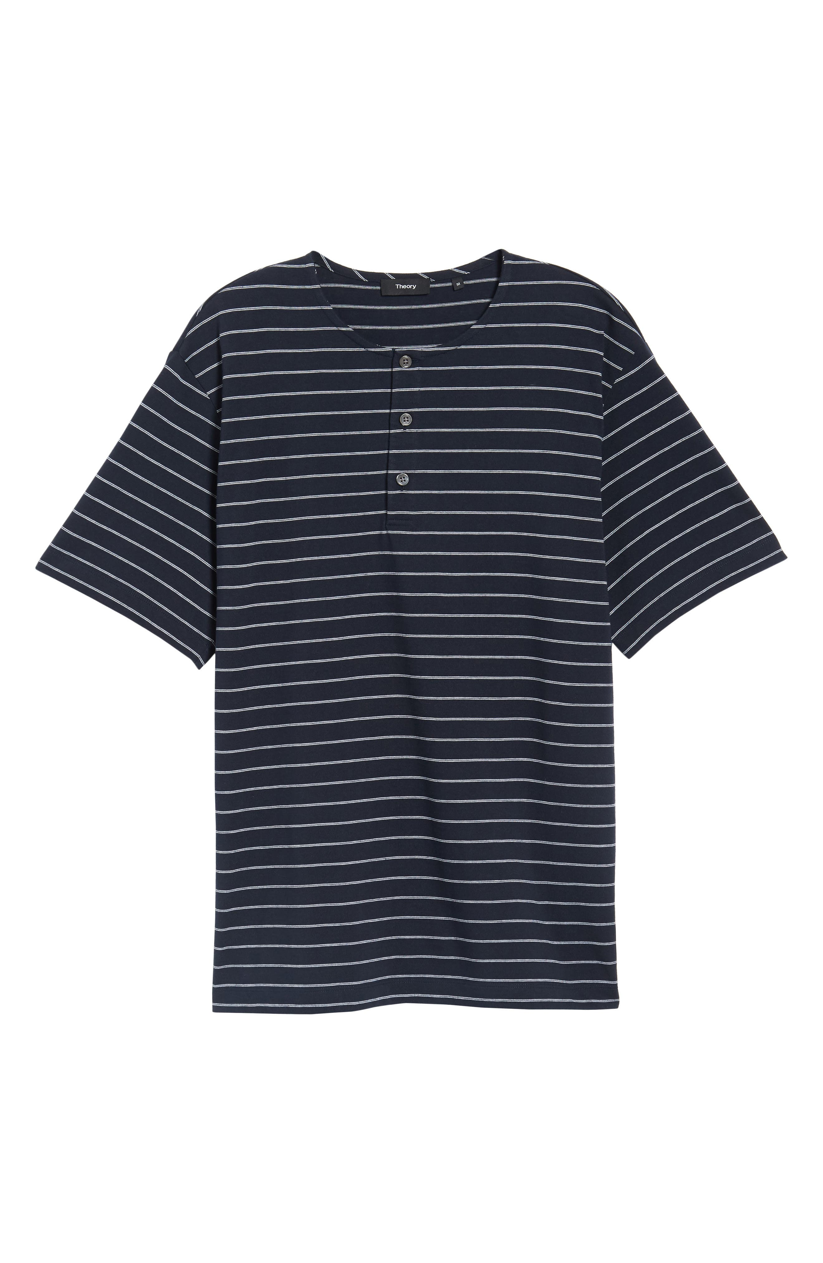 Alternate Image 6  - Theory Relaxed Stripe Henley