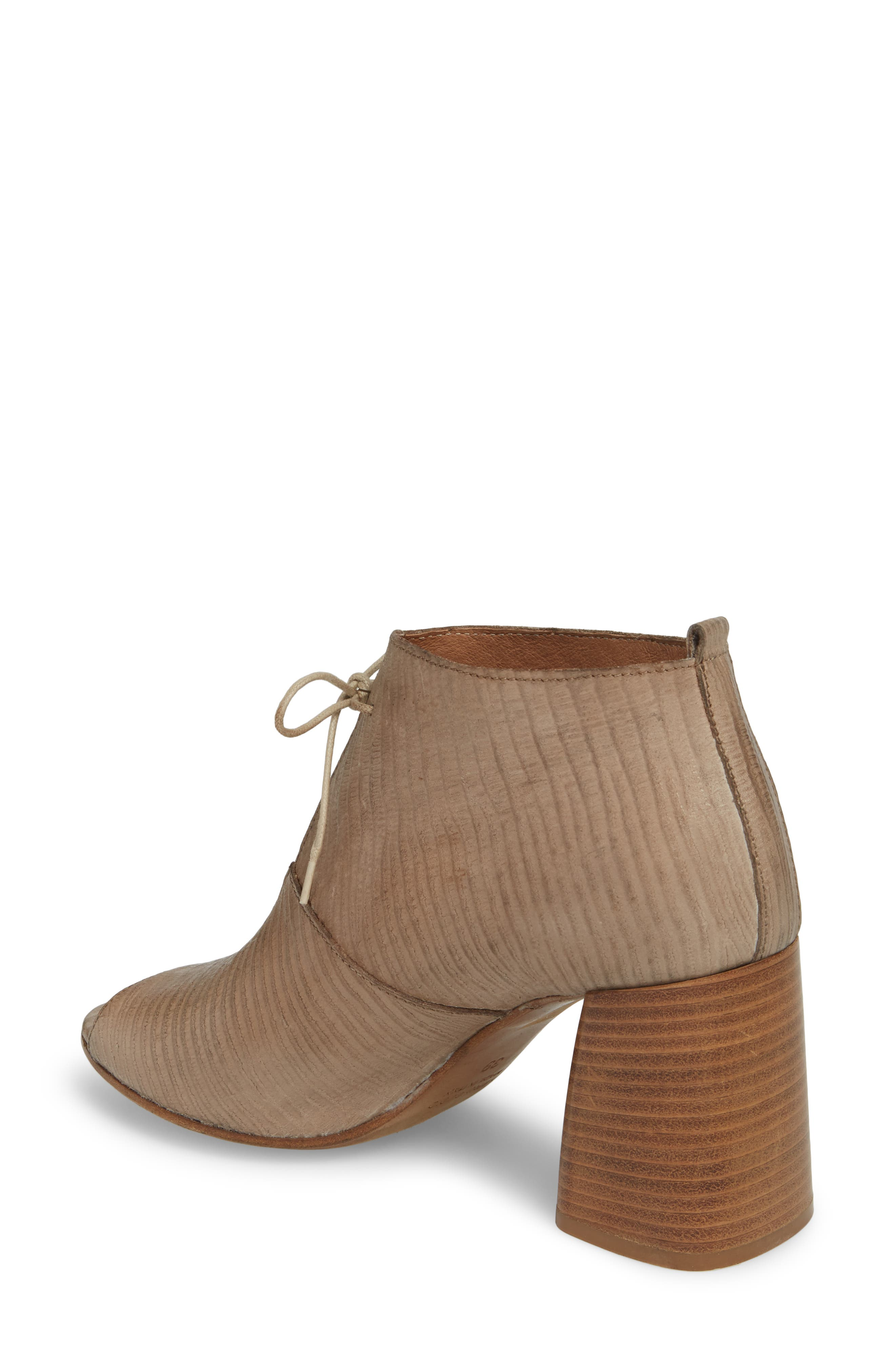 Lacey1 Bootie,                             Alternate thumbnail 2, color,                             Taupe Leather