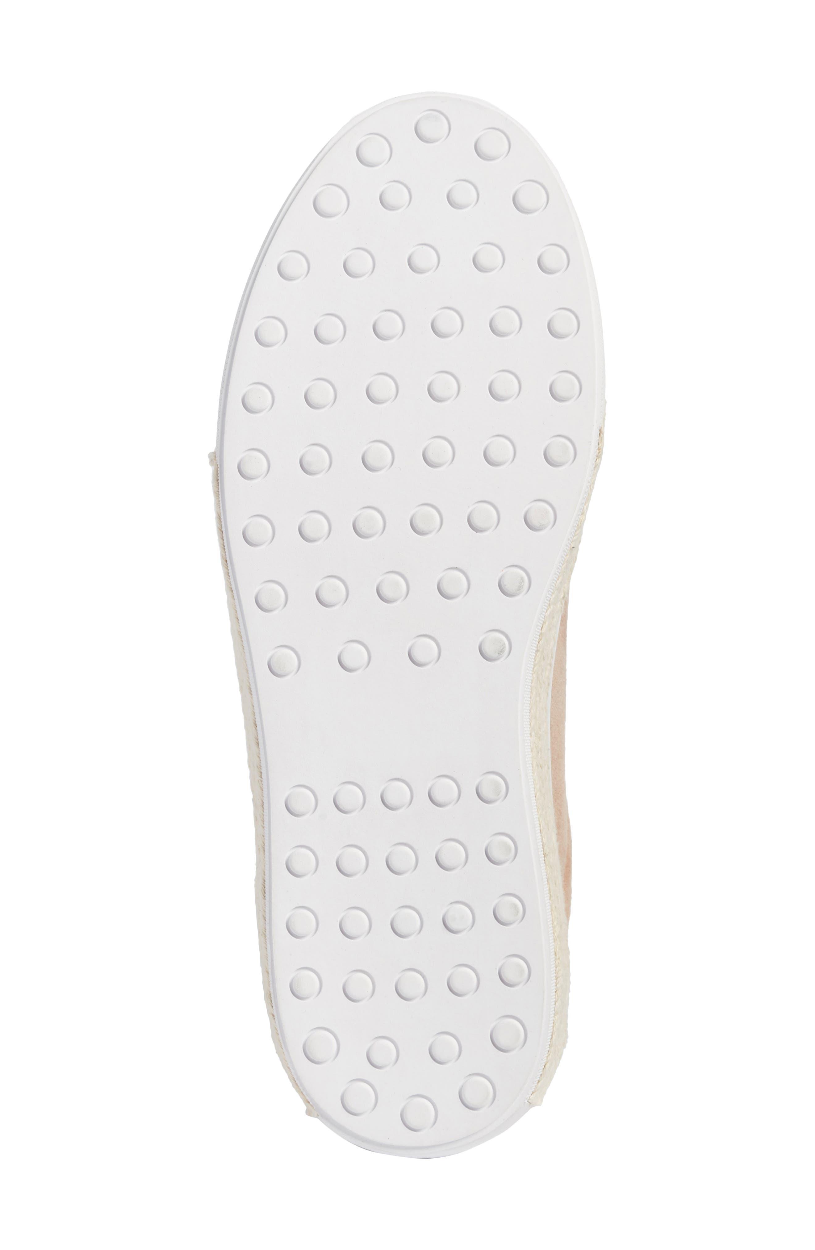 Toran Platform Sneaker,                             Alternate thumbnail 6, color,                             Blush Suede