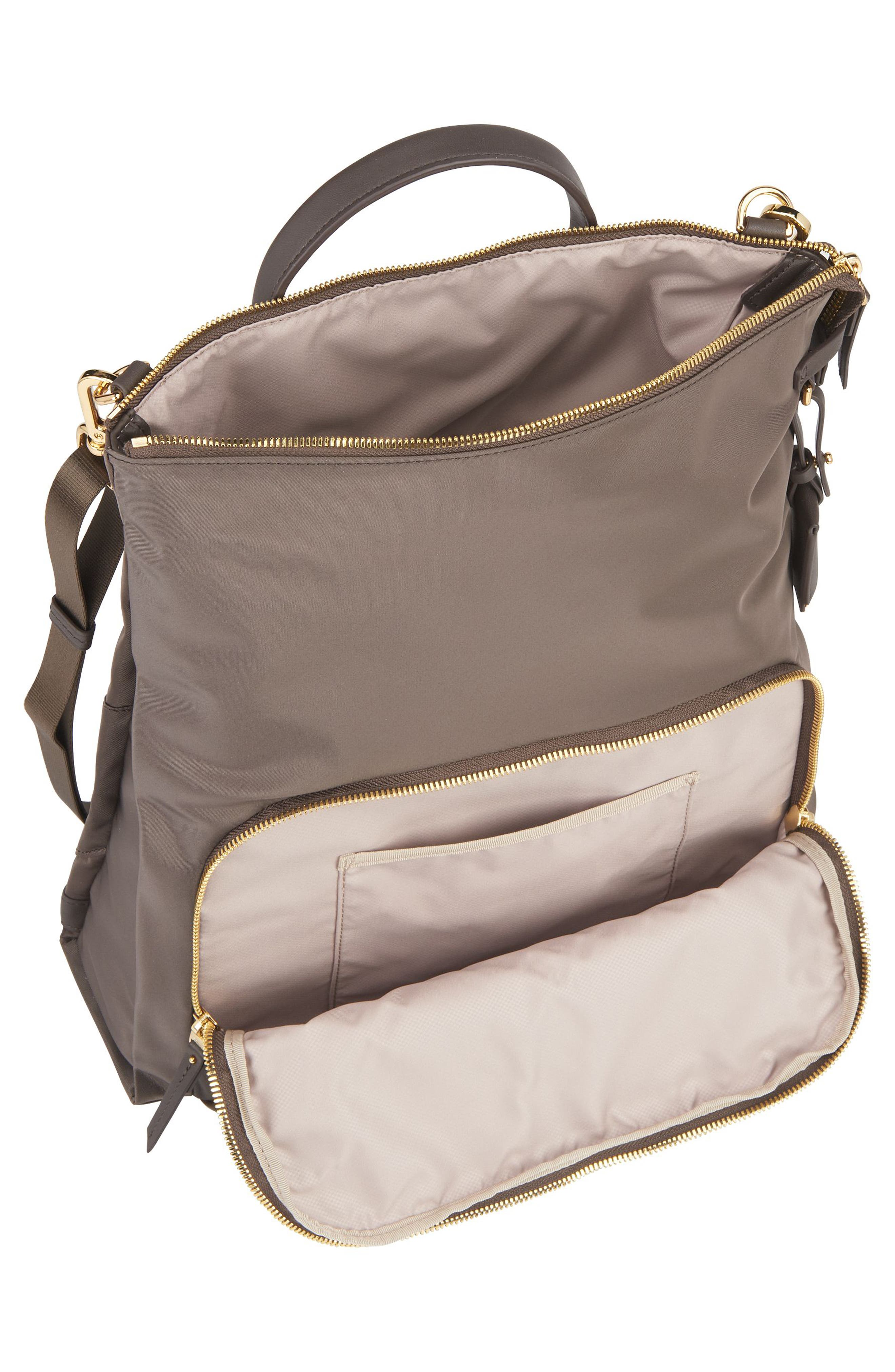 Voyageur - Jackie Convertible Crossbody Bag,                             Alternate thumbnail 4, color,                             Mink