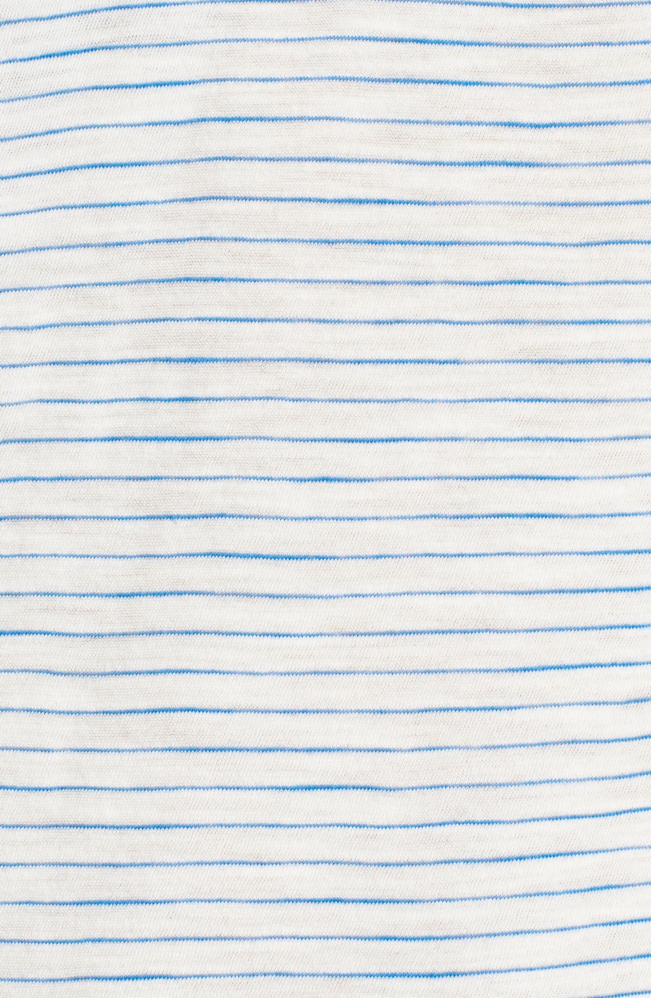 Alternate Image 5  - Madewell Whisper Cotton Stripe V-Neck Tee
