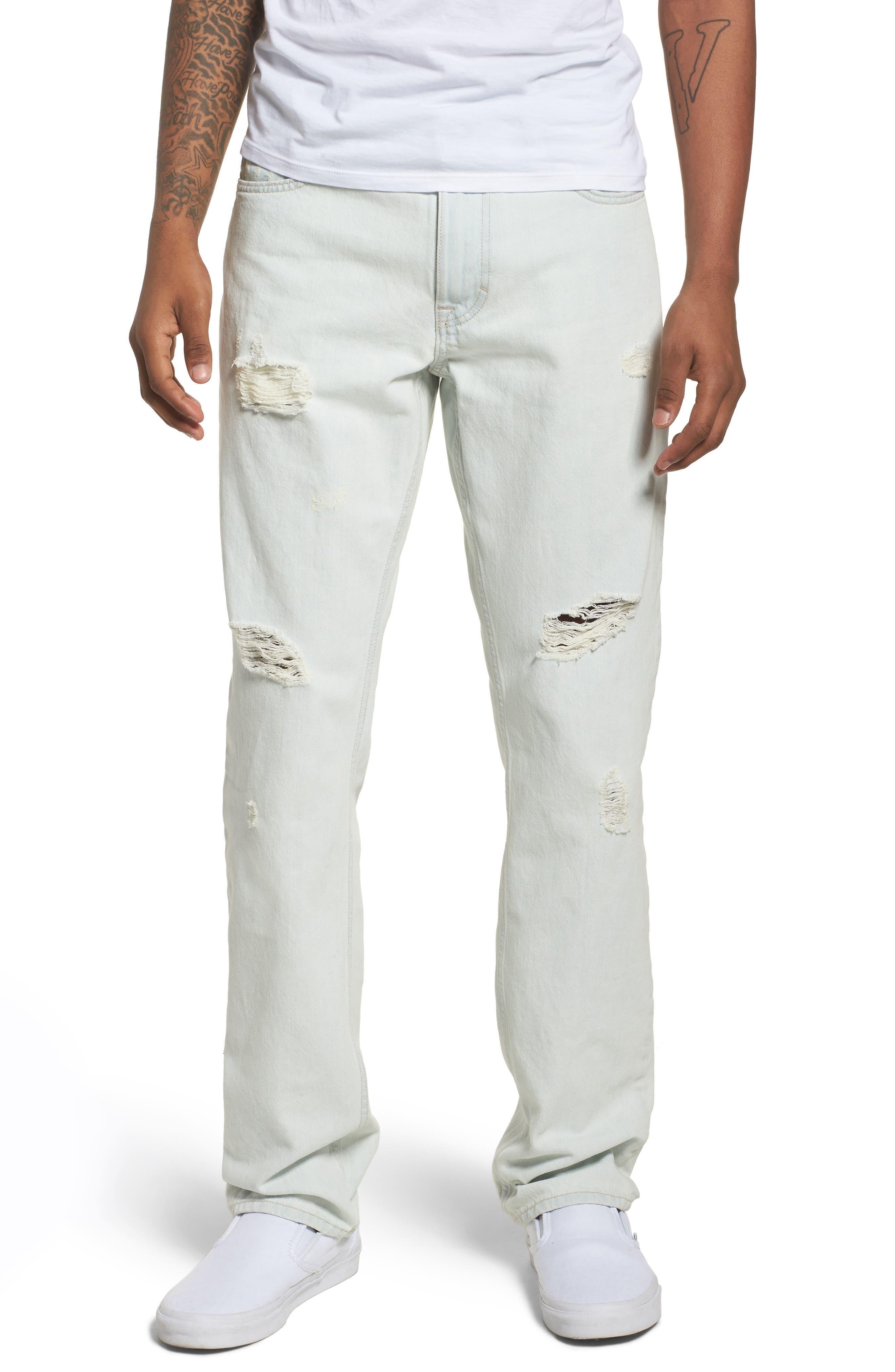 Slim Jeans,                             Main thumbnail 1, color,                             Favor Blue