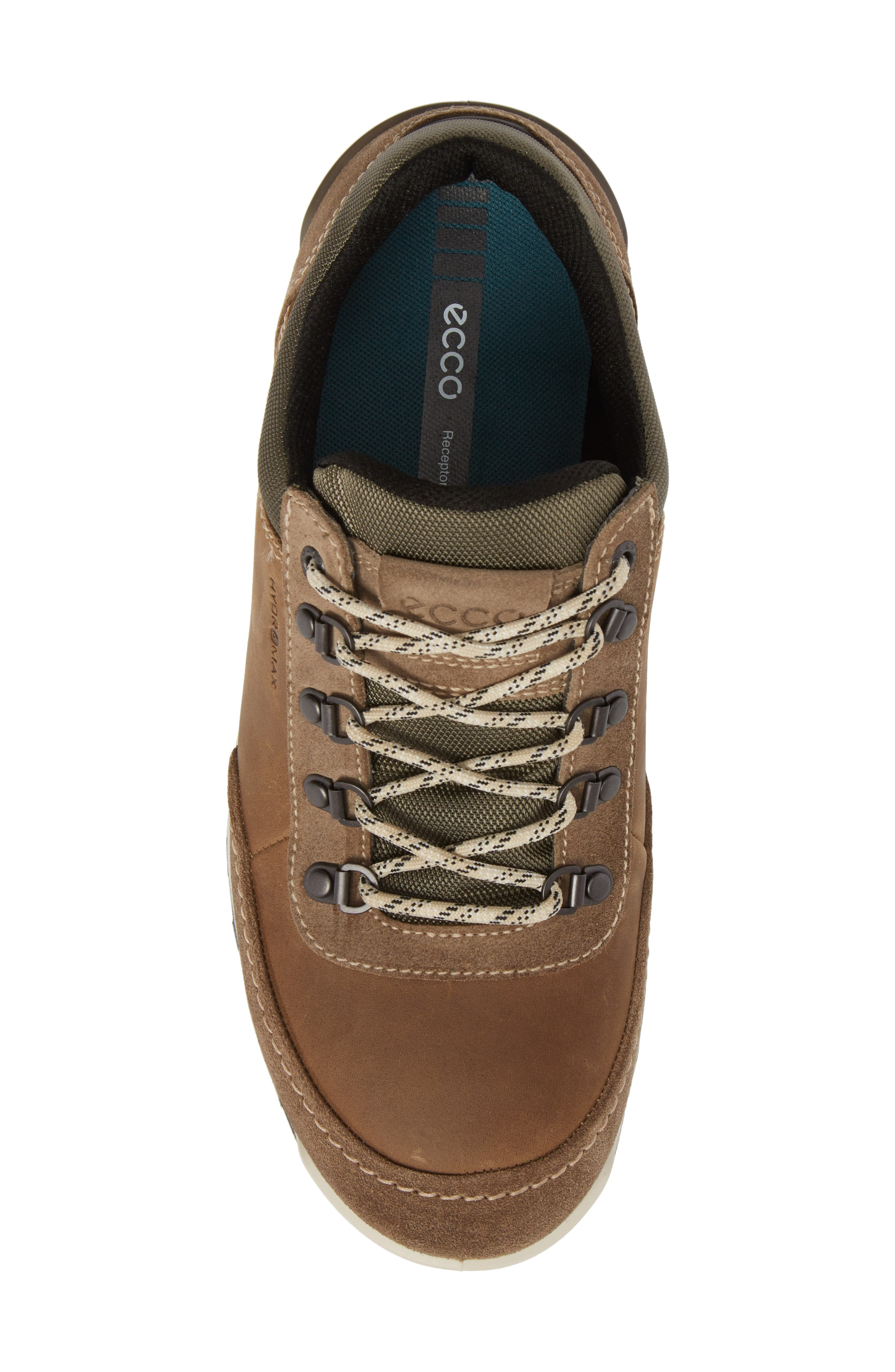 Oregon Sneaker,                             Alternate thumbnail 5, color,                             Brown Leather