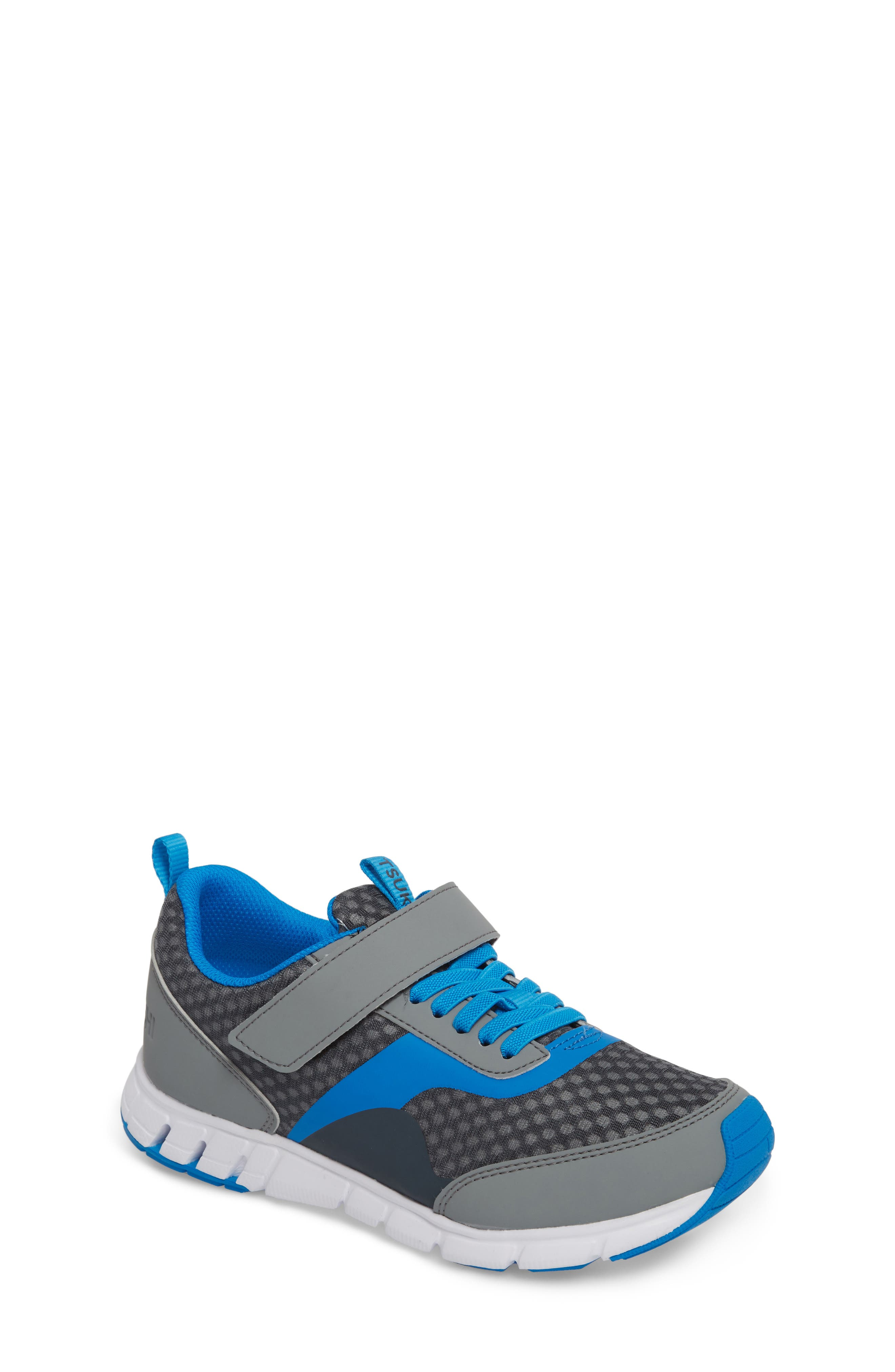 Sonic Washable Sneaker,                             Main thumbnail 1, color,                             Gray/ Royal